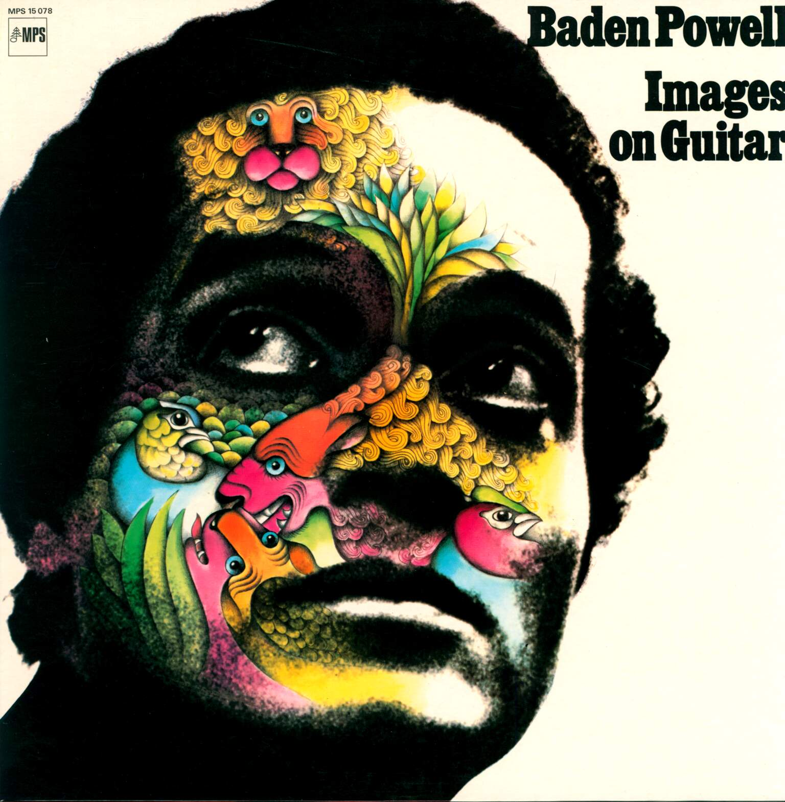 Baden Powell: Images On Guitar, 1×LP (Vinyl)