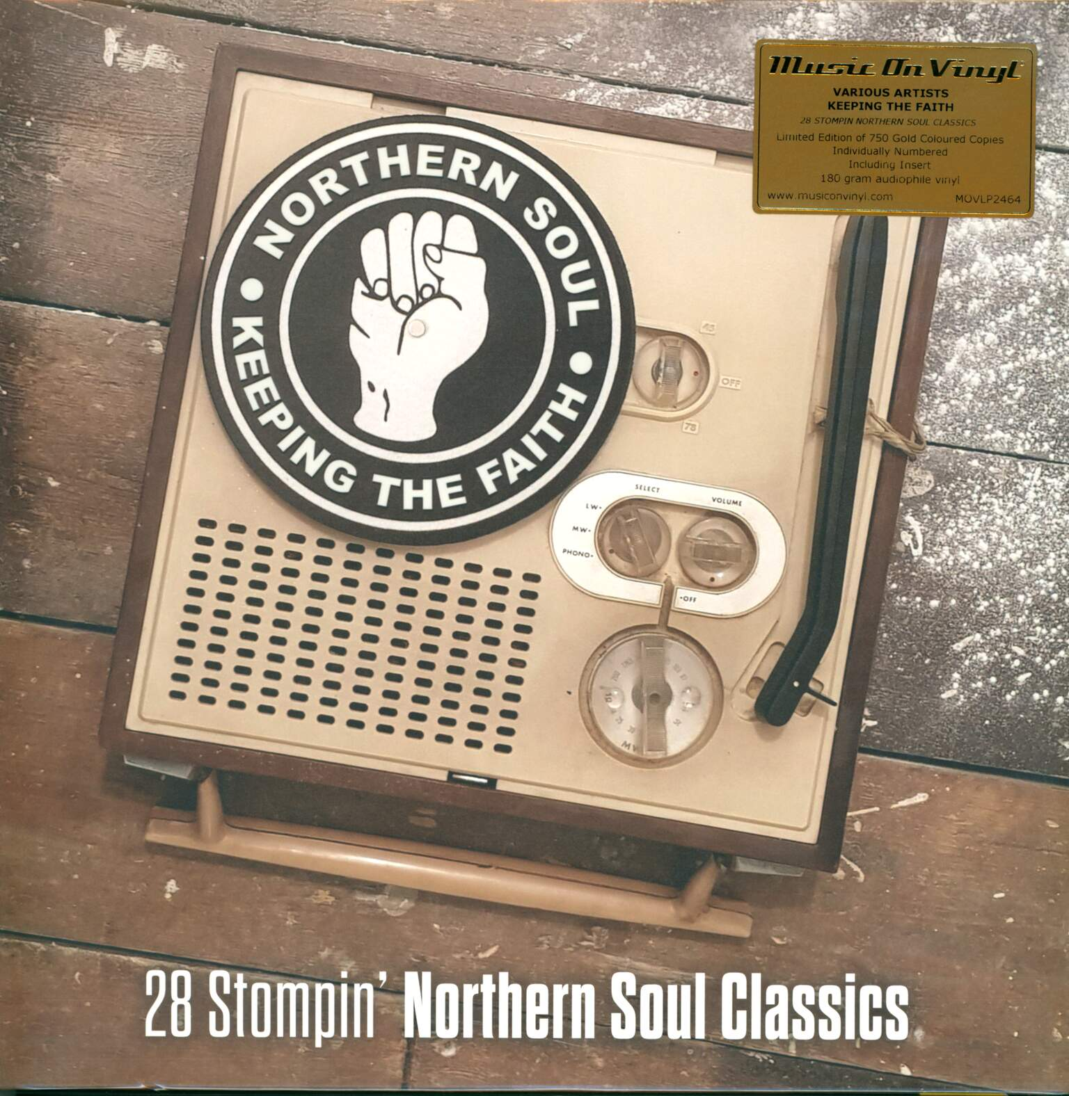 Various: Keeping The Faith (28 Stompin' Northern Soul Classics), 2×LP (Vinyl)