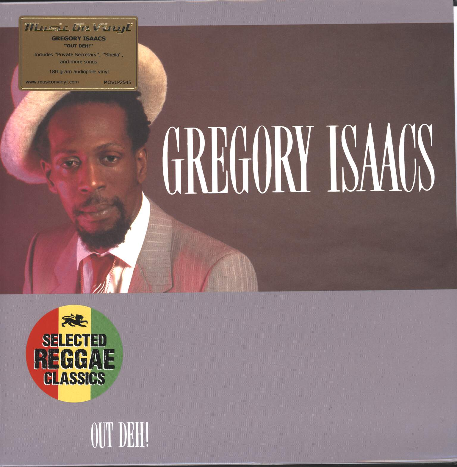 Gregory Isaacs: Out Deh!, 1×LP (Vinyl)