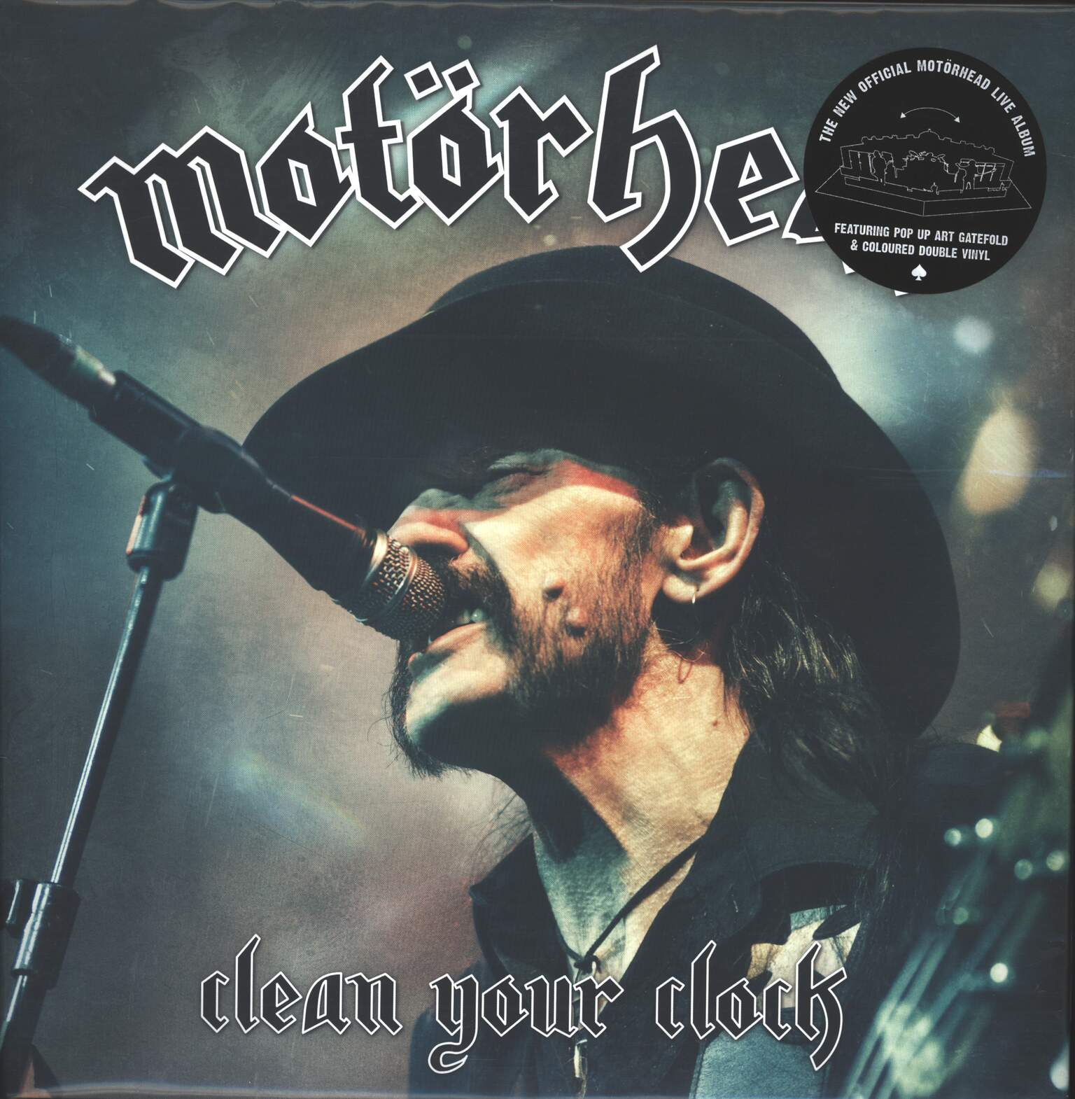 Motörhead: Clean Your Clock, 2×LP (Vinyl)