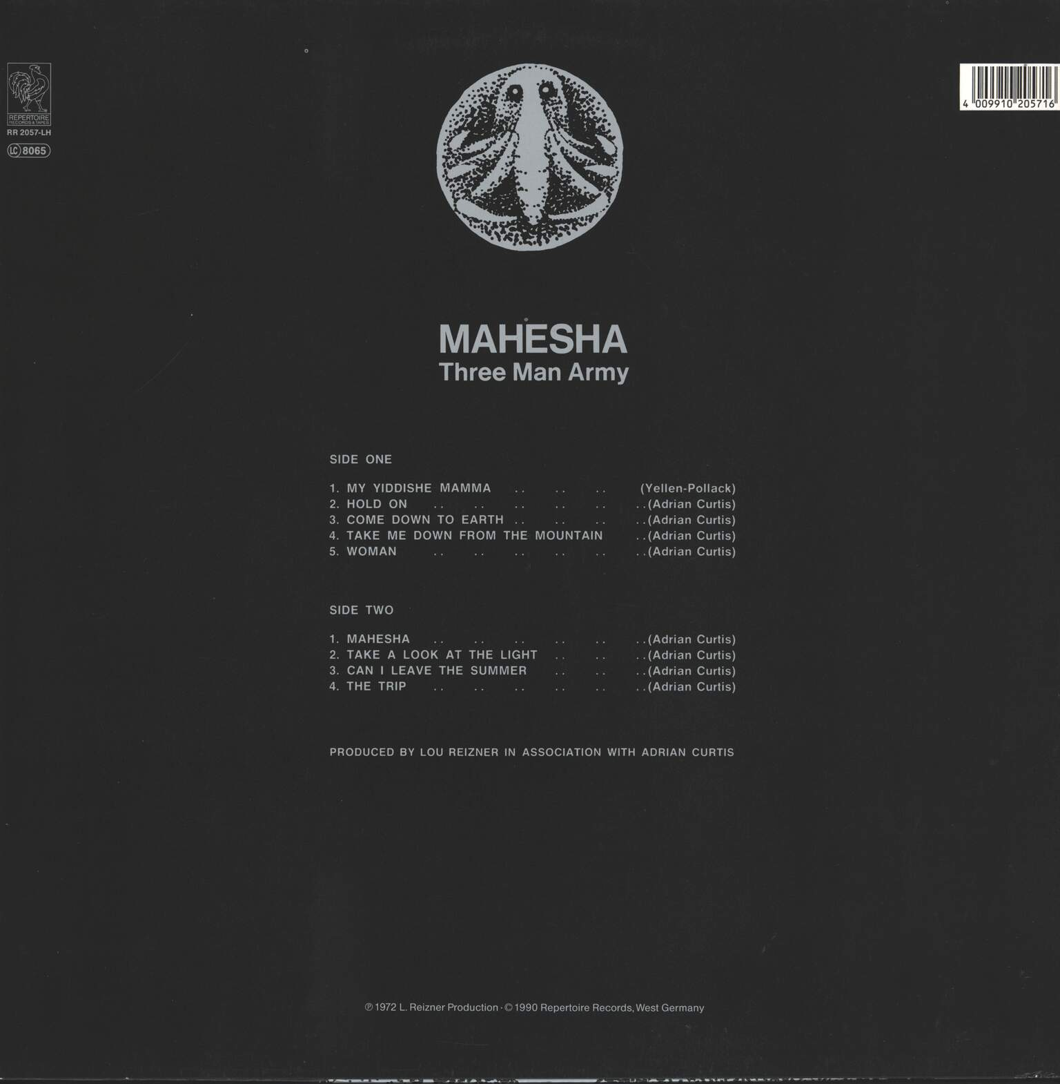 Three Man Army: Mahesha, 1×LP (Vinyl)