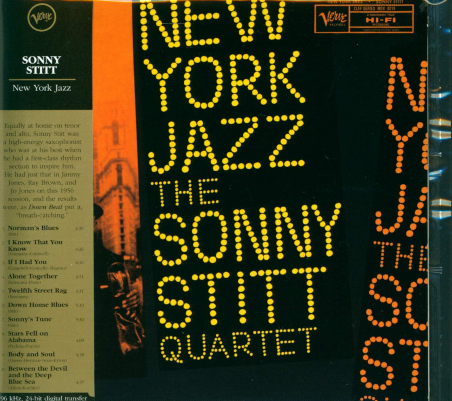 Sonny Stitt Quartet: New York Jazz, 1×CD