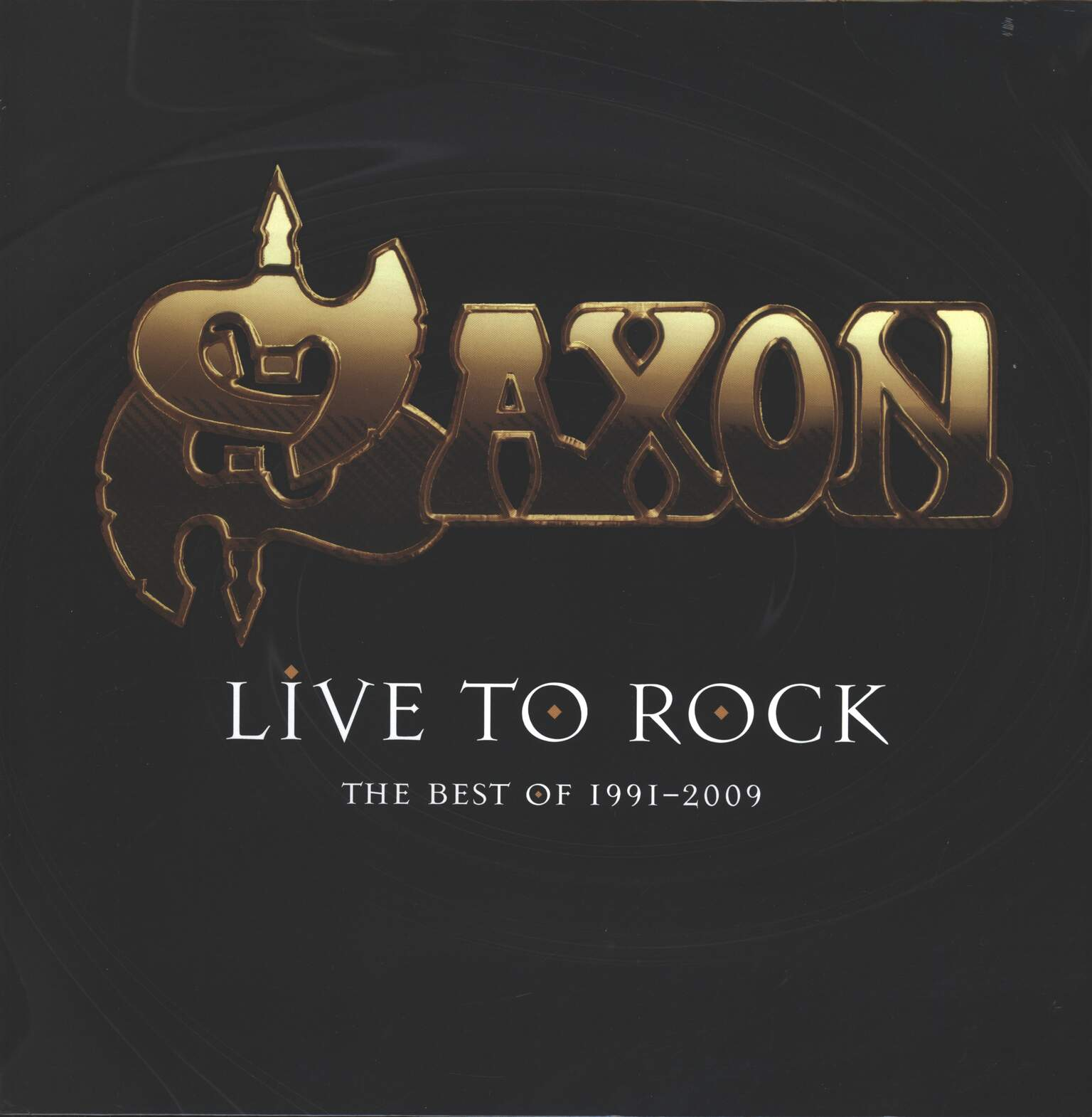 Saxon: Live To Rock: The Best Of 1991-2009, 1×LP (Vinyl)