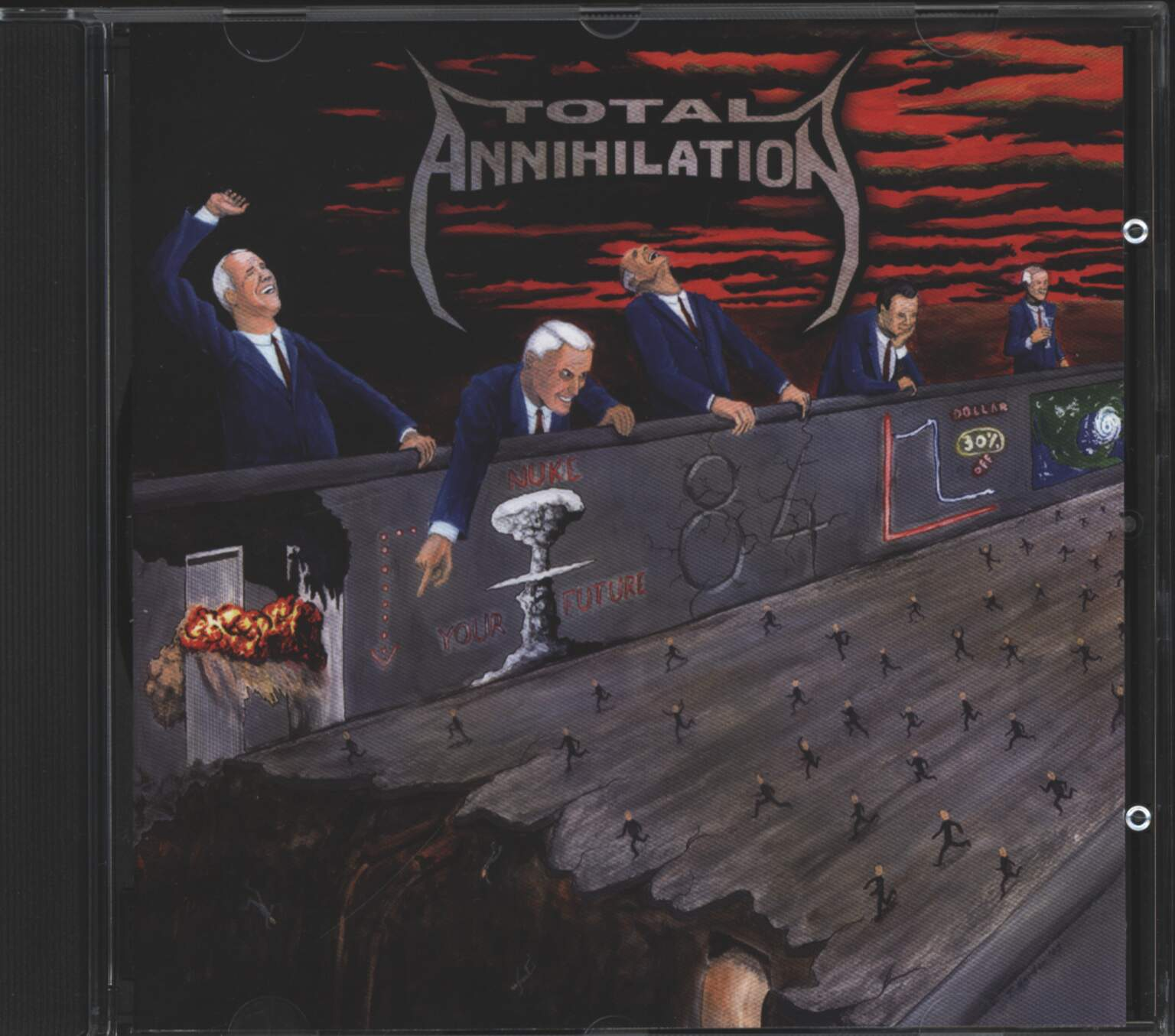 Total Annihilation: 84, 1×CD