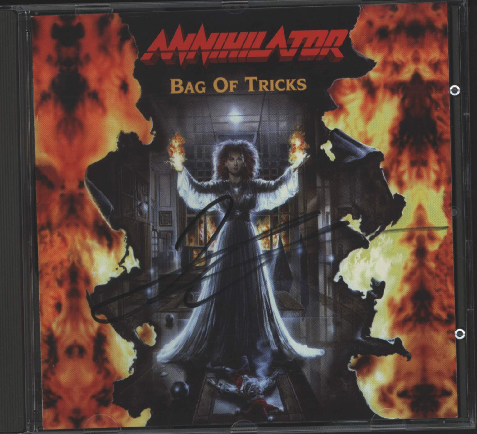 Annihilator: Bag Of Tricks, 1×CD