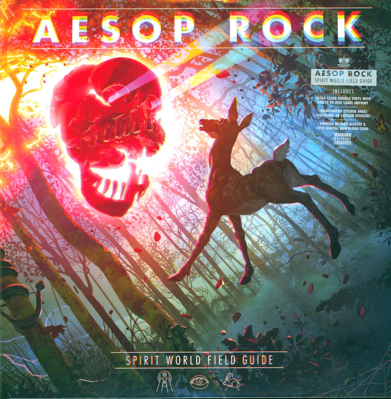 Aesop Rock: Spirit World Field Guide, 2×LP (Vinyl)