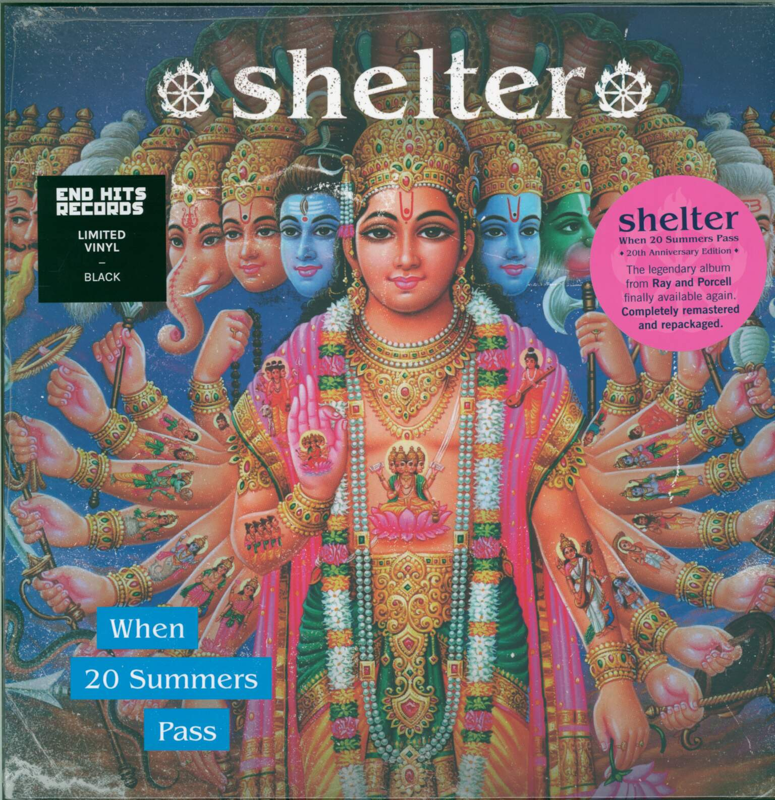 Shelter: When 20 Summers Pass, 1×LP (Vinyl)