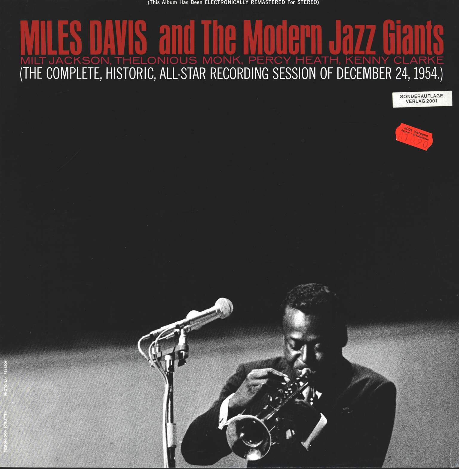 Miles Davis: Miles Davis And The Modern Jazz Giants, 1×LP (Vinyl)
