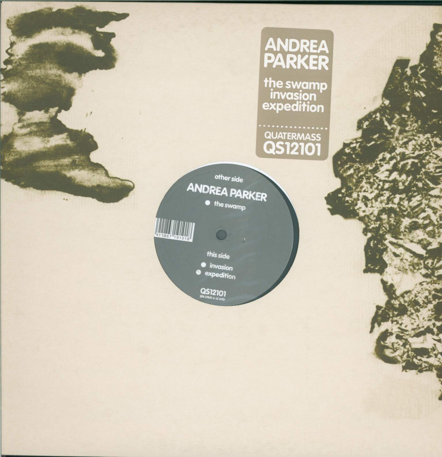 Andrea Parker: The Swamp, 1×LP (Vinyl)