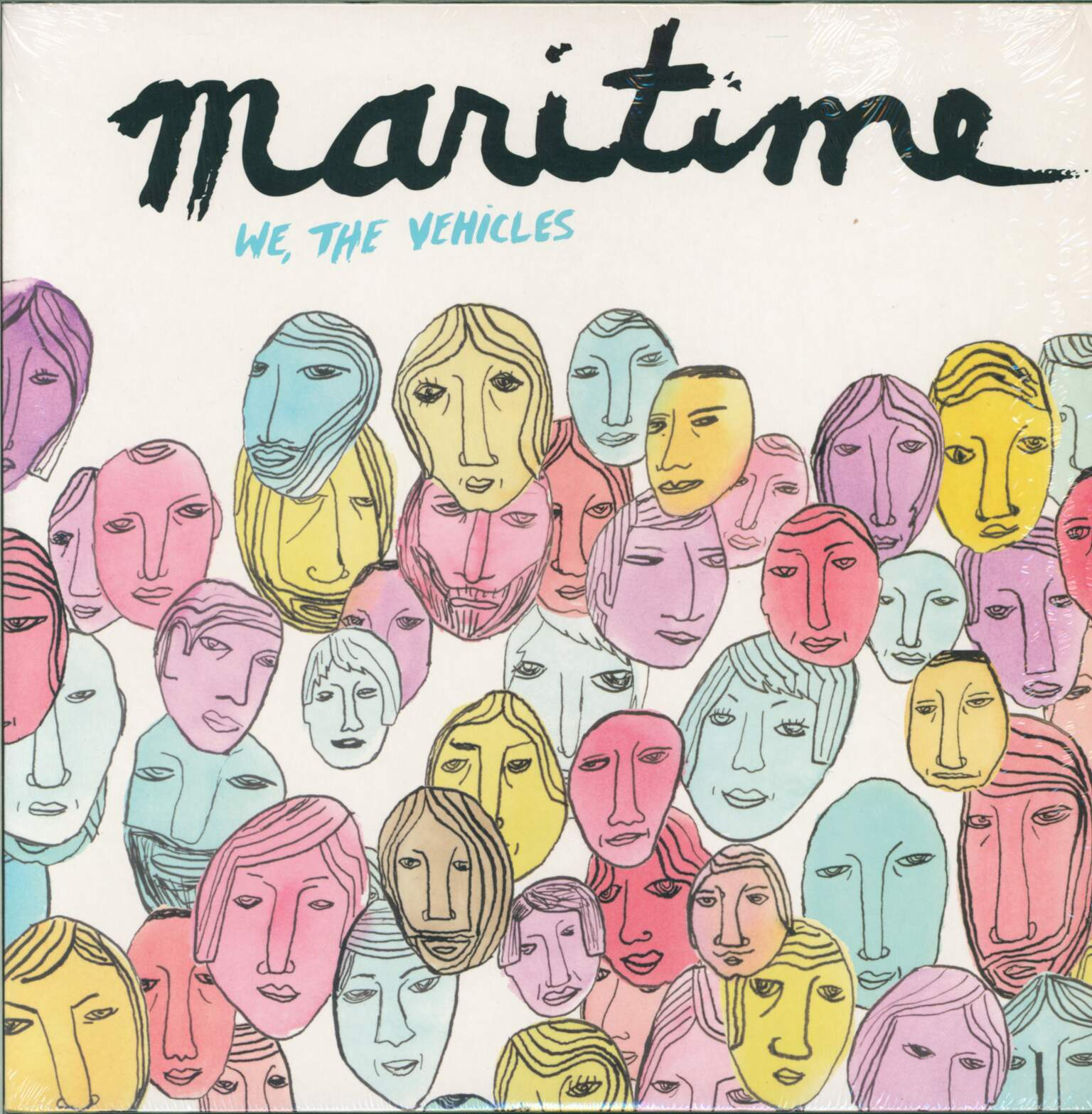 Maritime: We, The Vehicles, 1×LP (Vinyl)