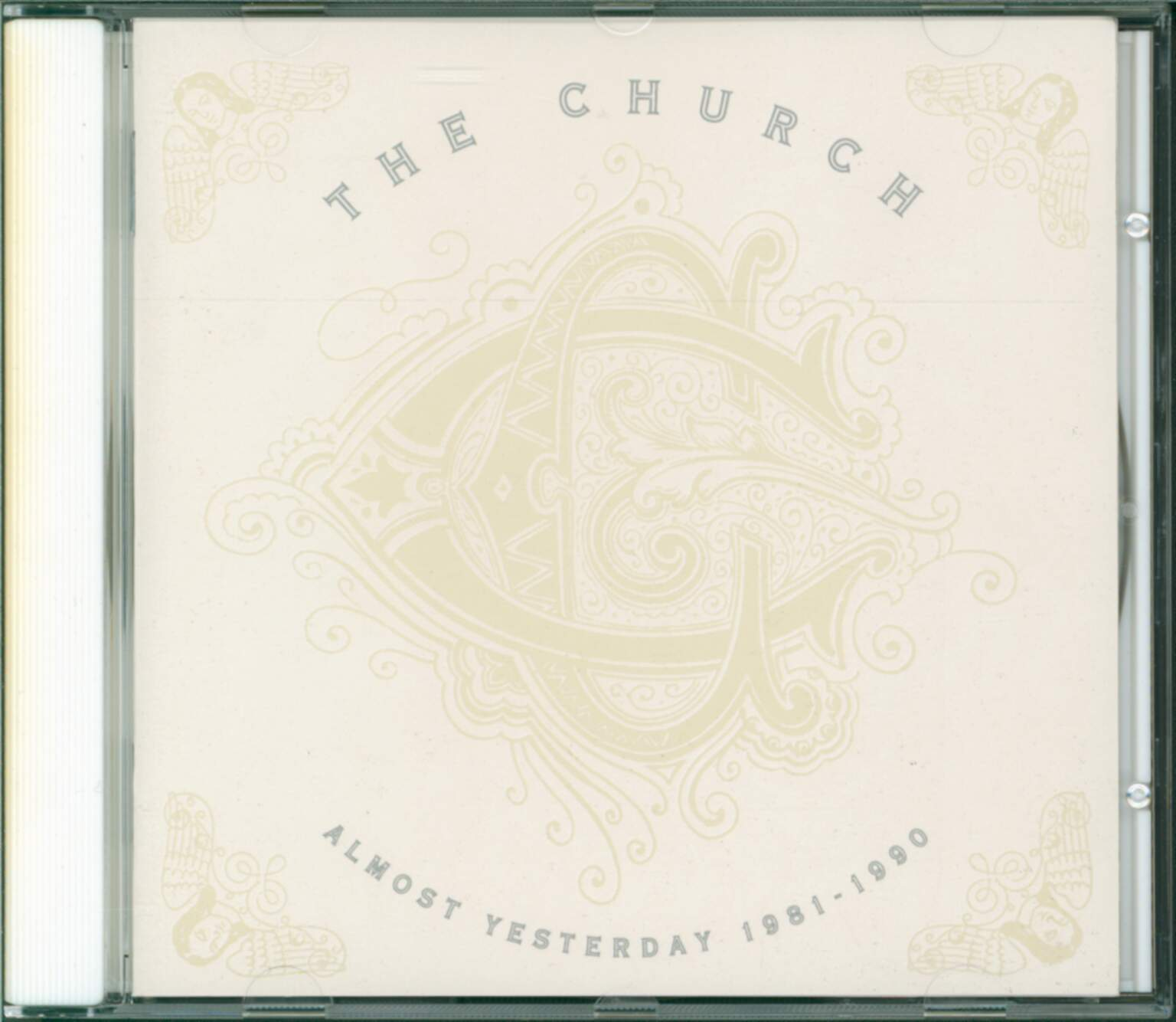 The Church: Almost Yesterday 1981-1990, 1×CD