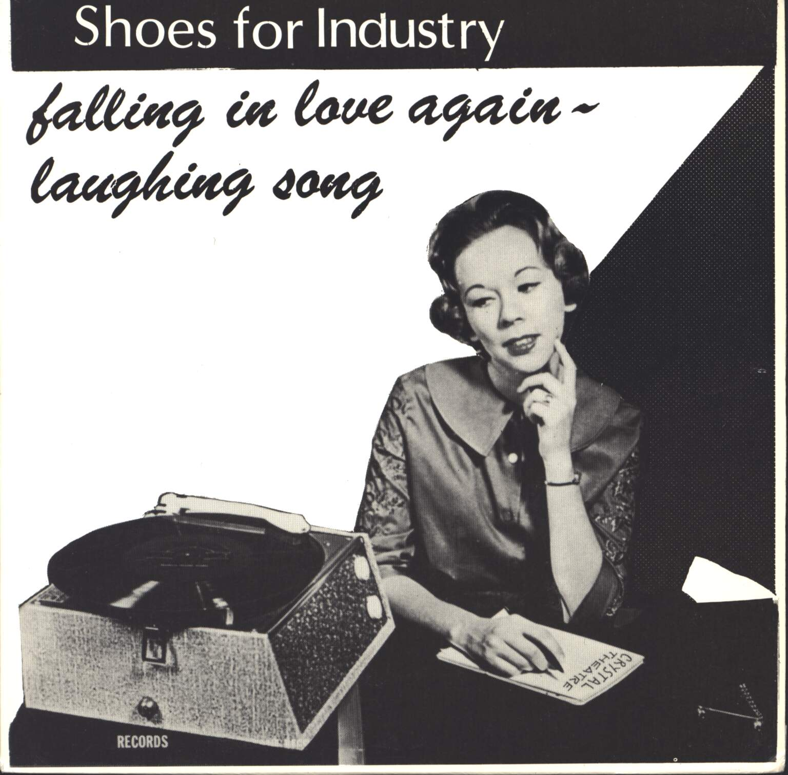 "Shoes For Industry: Falling In Love Again / Laughing Song, 1×7"" Single (Vinyl)"