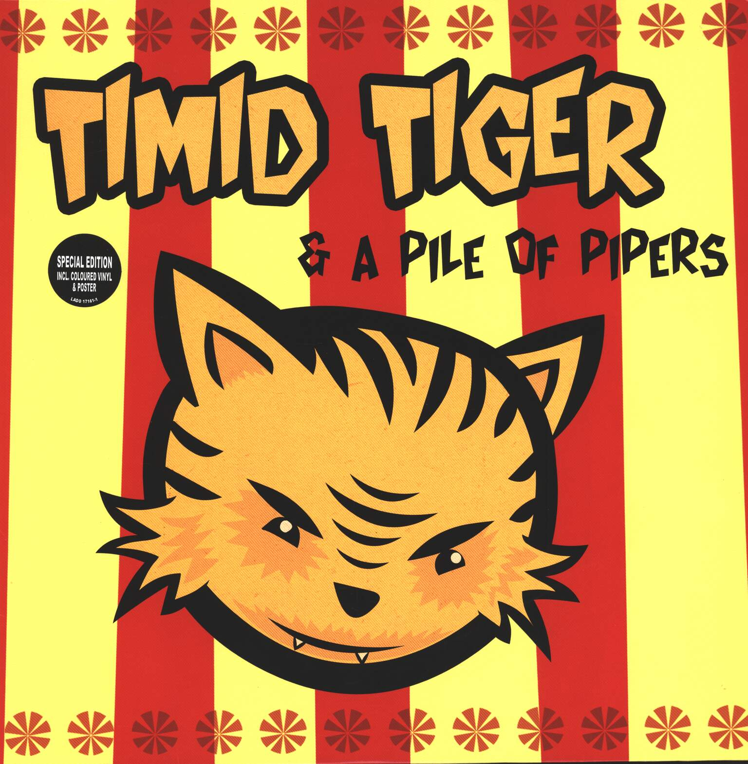 Timid Tiger: Timid Tiger & A Pile Of Pipers, 1×LP (Vinyl)