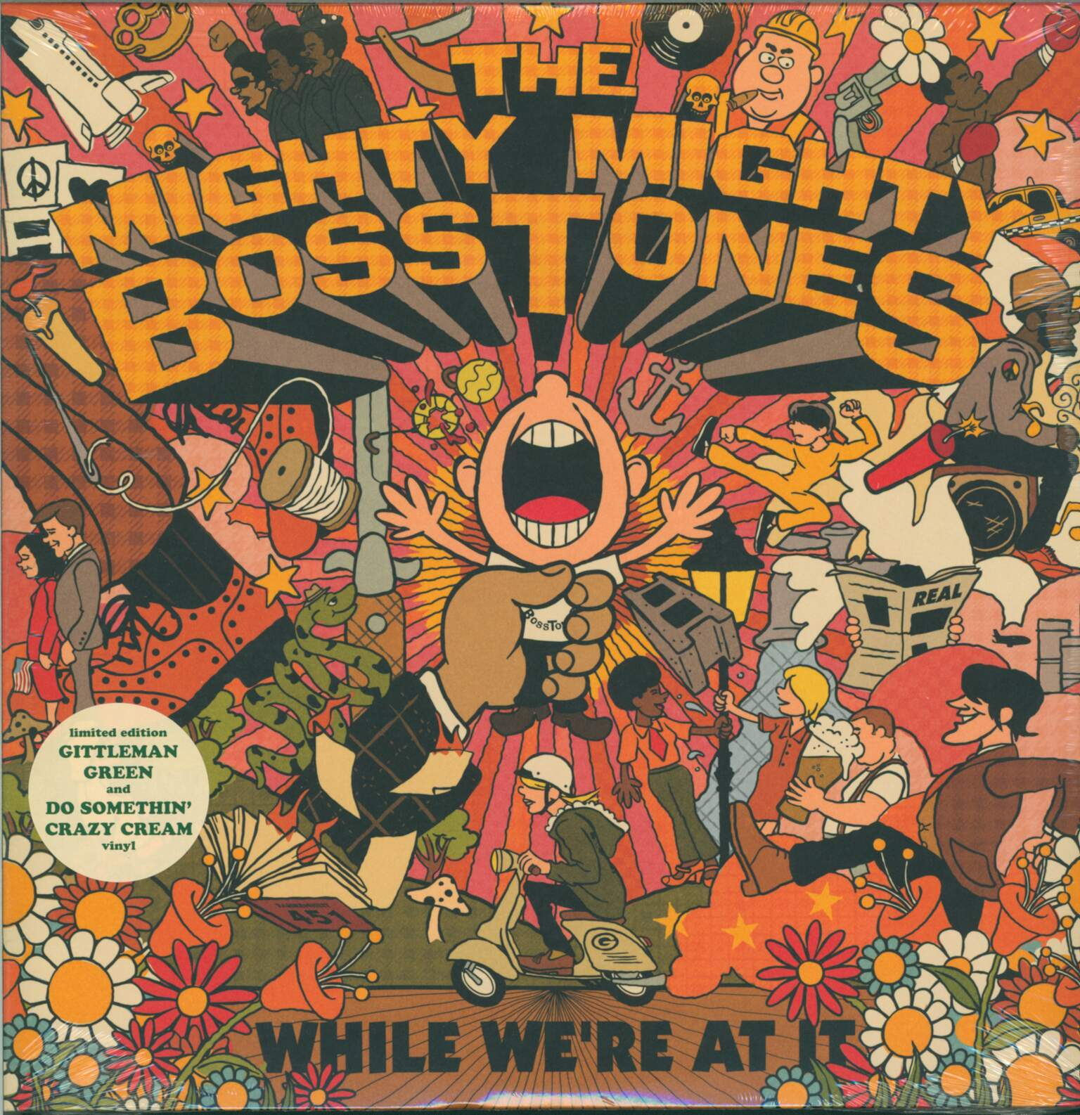 The Mighty Mighty Bosstones: While We're At It, 1×LP (Vinyl), 1×LP (Vinyl)