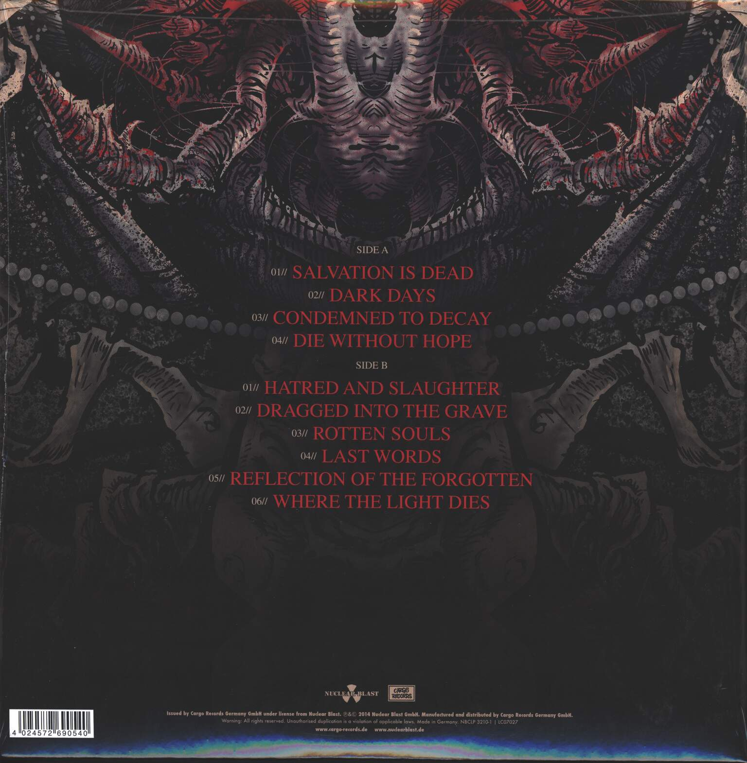 Carnifex: Die Without Hope, 1×LP (Vinyl)