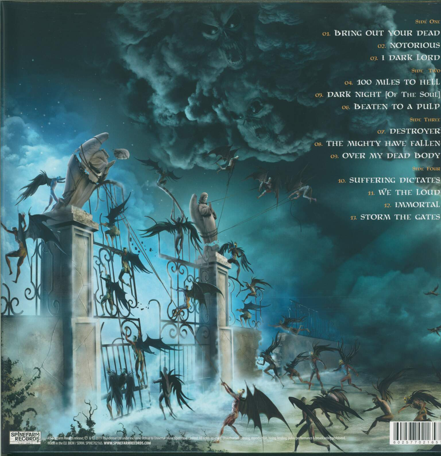 Venom: Storm The Gates, 2×LP (Vinyl)