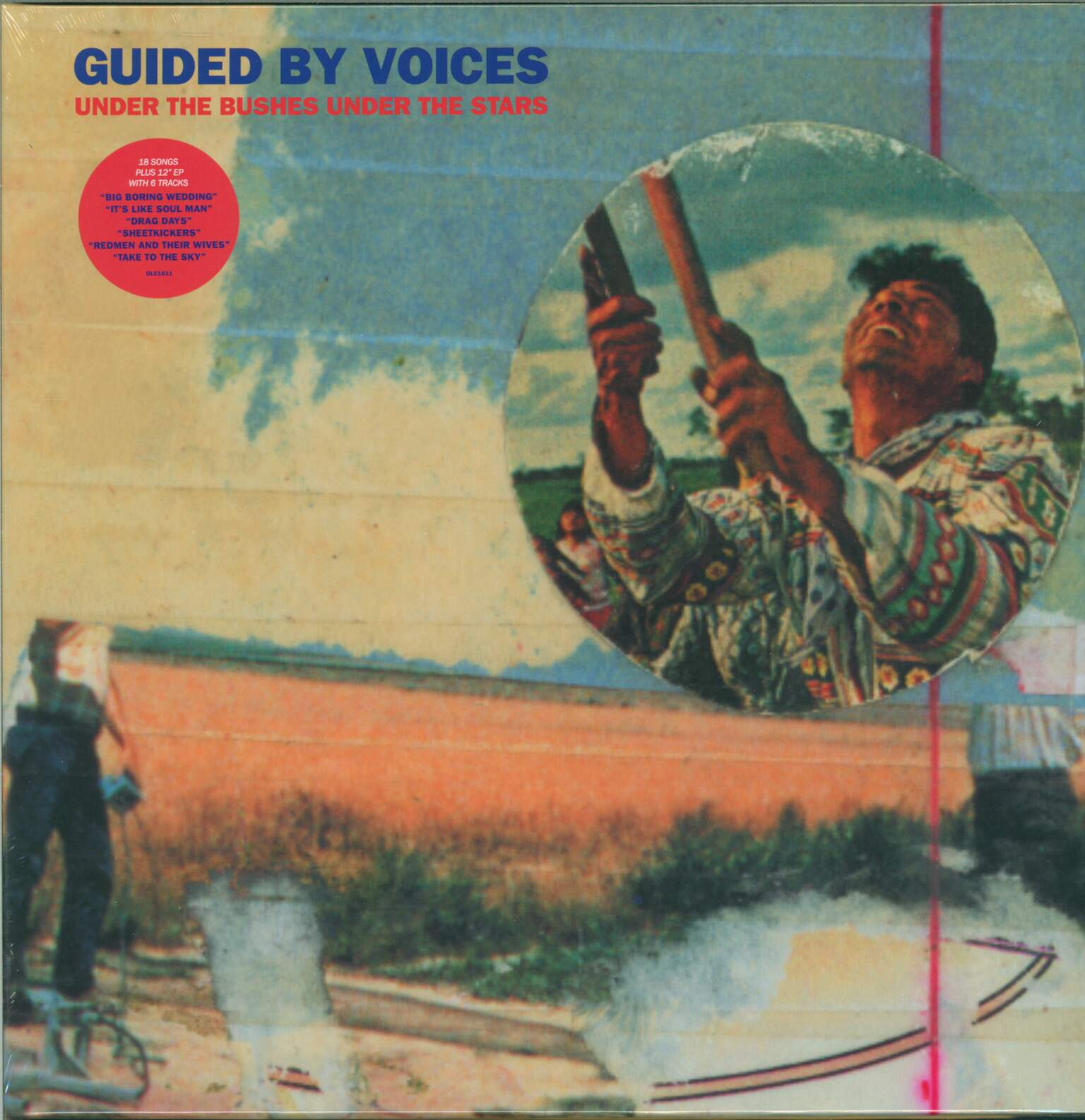 "Guided By Voices: Under The Bushes Under The Stars, 1×LP (Vinyl), 1×12"" Maxi Single (Vinyl)"