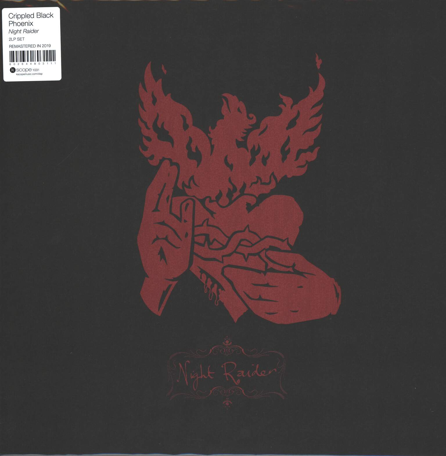 Crippled Black Phoenix: Night Raider, 2×LP (Vinyl)