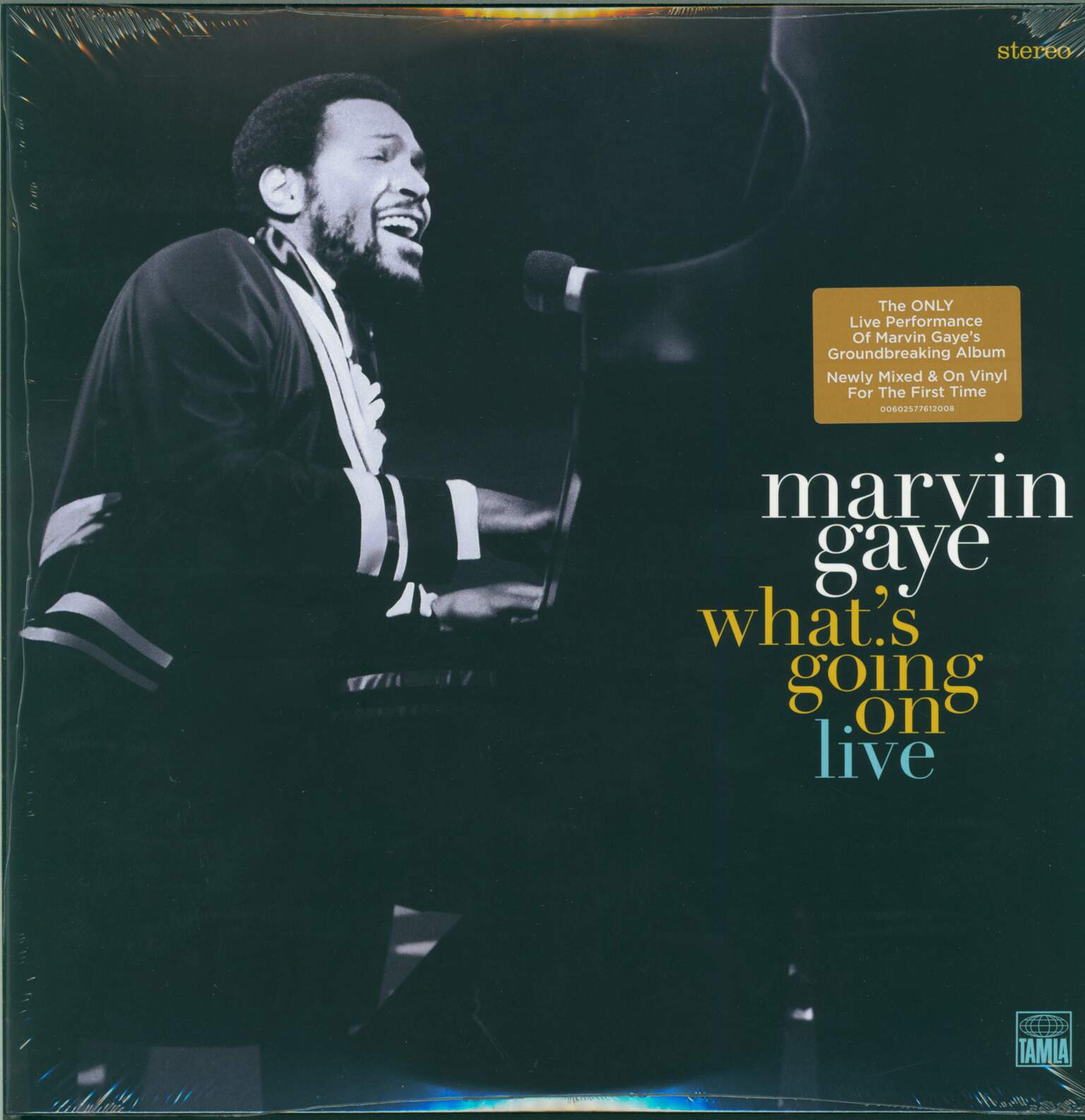 Marvin Gaye: What's Going On Live, 2×LP (Vinyl)