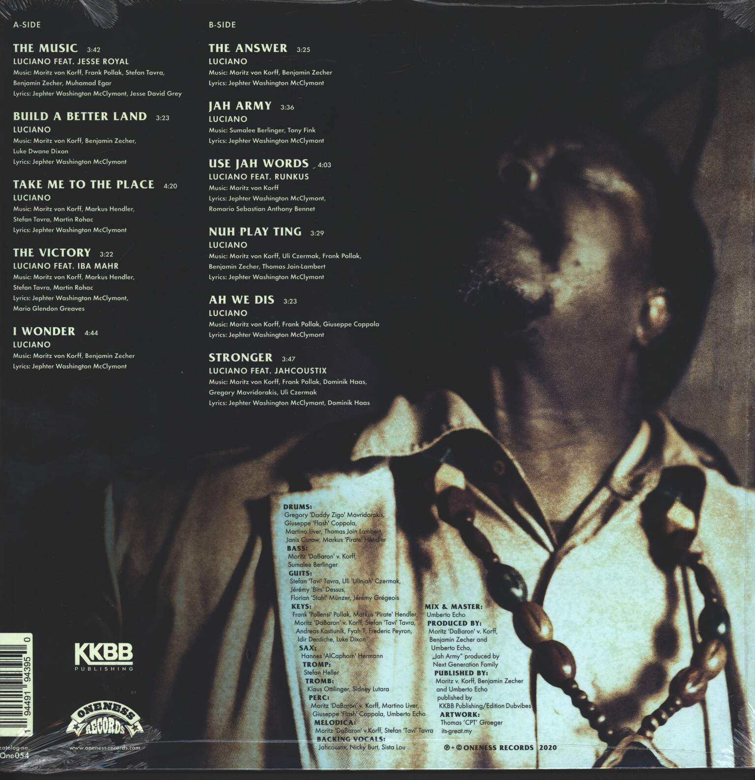 Luciano: The Answer, 1×LP (Vinyl)