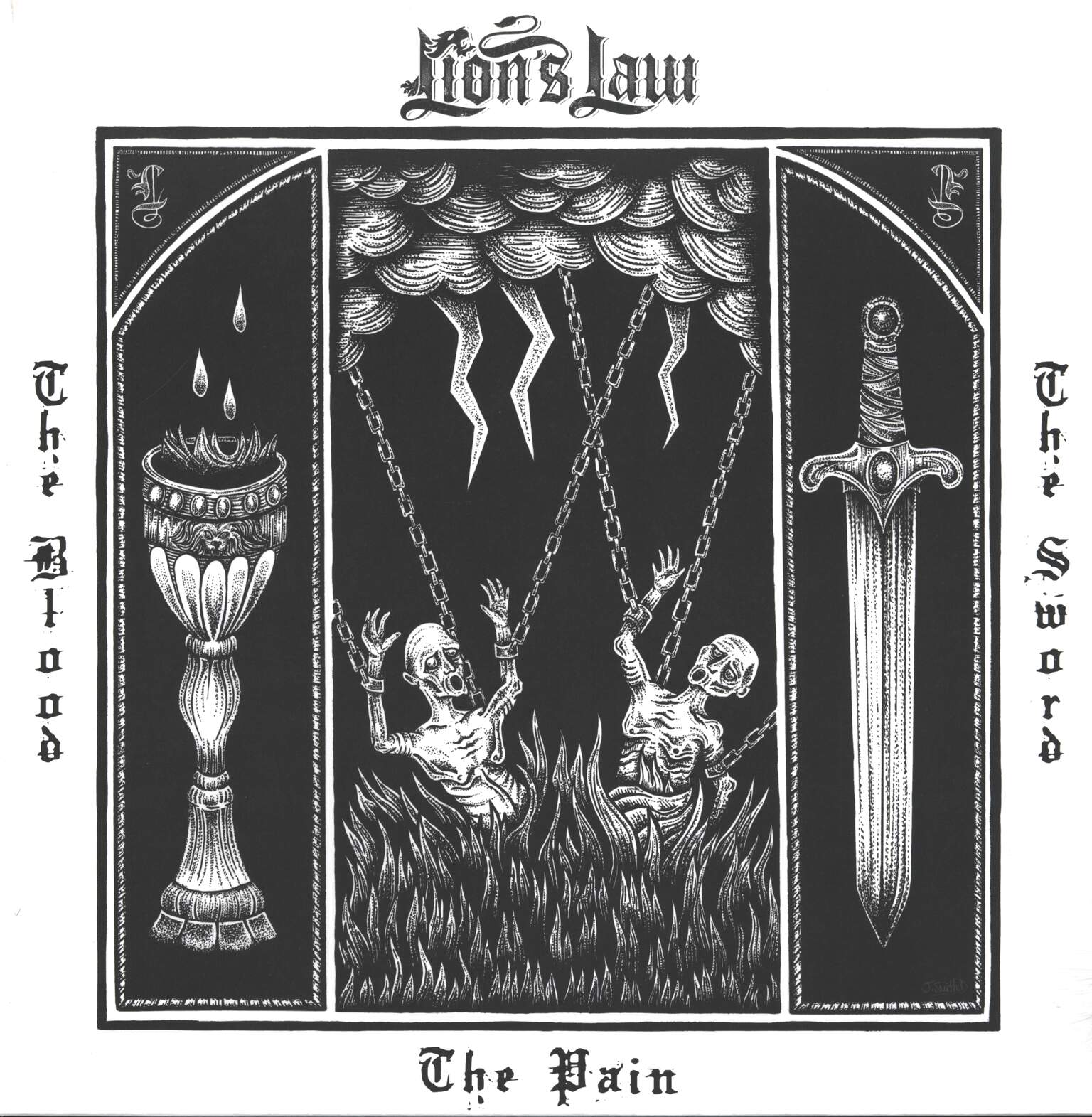 Lion's Law: The Pain, The Blood And The Sword, 1×LP (Vinyl)