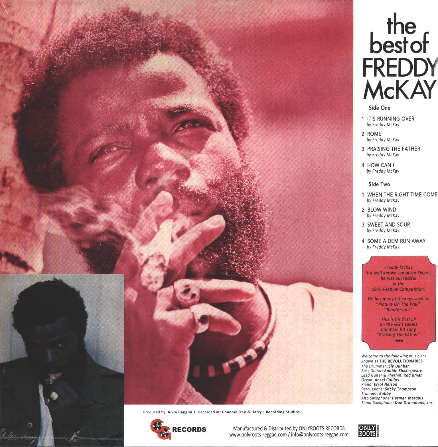 Freddie McKay: The Best Of Freddy McKay, 1×LP (Vinyl)