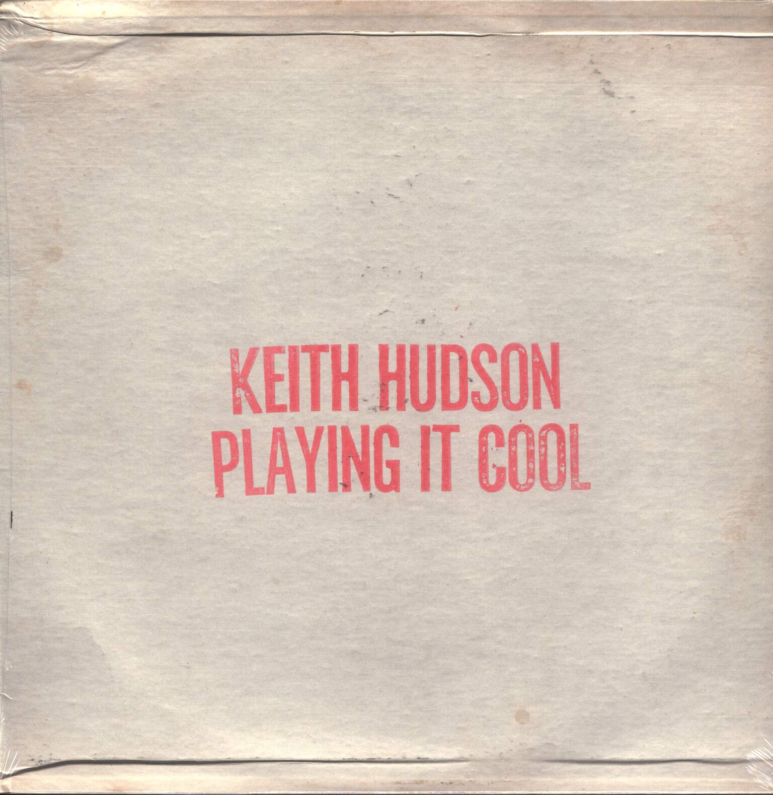 Keith Hudson: Playing It Cool & Playing It Right, 1×LP (Vinyl)