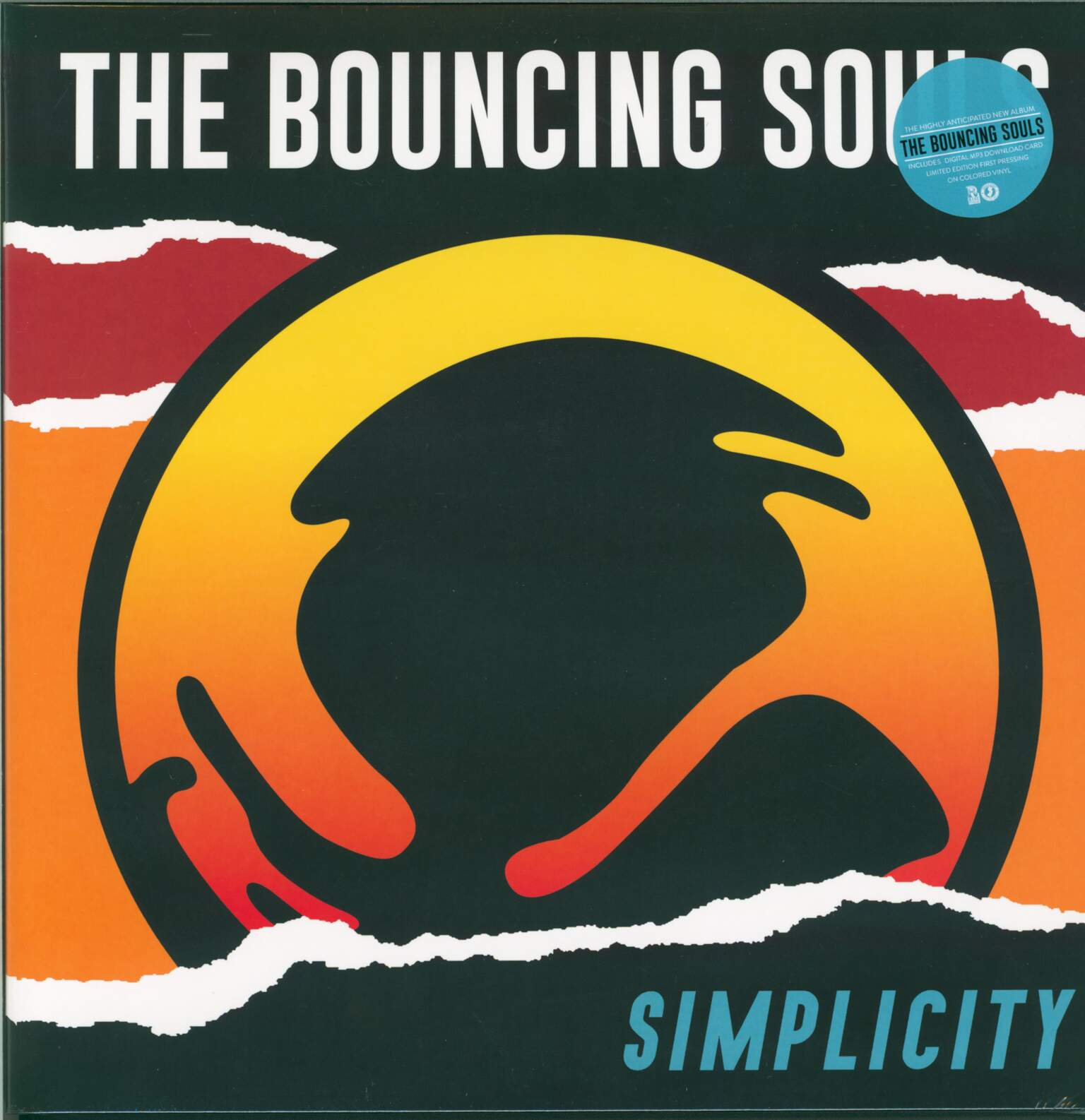The Bouncing Souls: Simplicity, 1×LP (Vinyl)