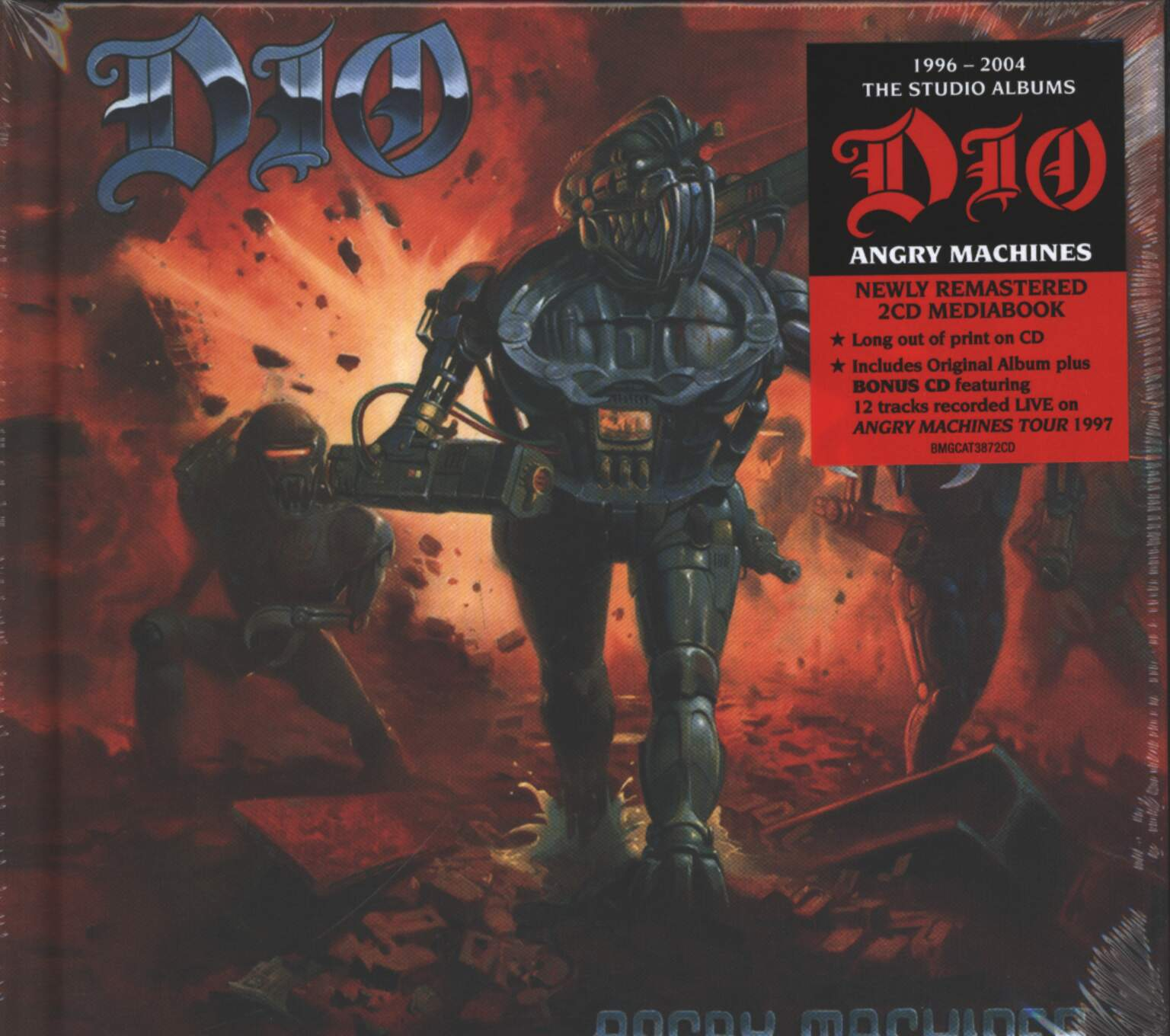 Dio: Angry Machines, 2×CD