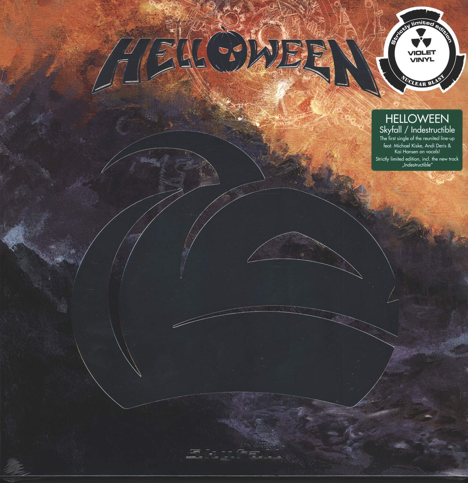 "Helloween: Skyfall, 1×12"" Maxi Single (Vinyl)"