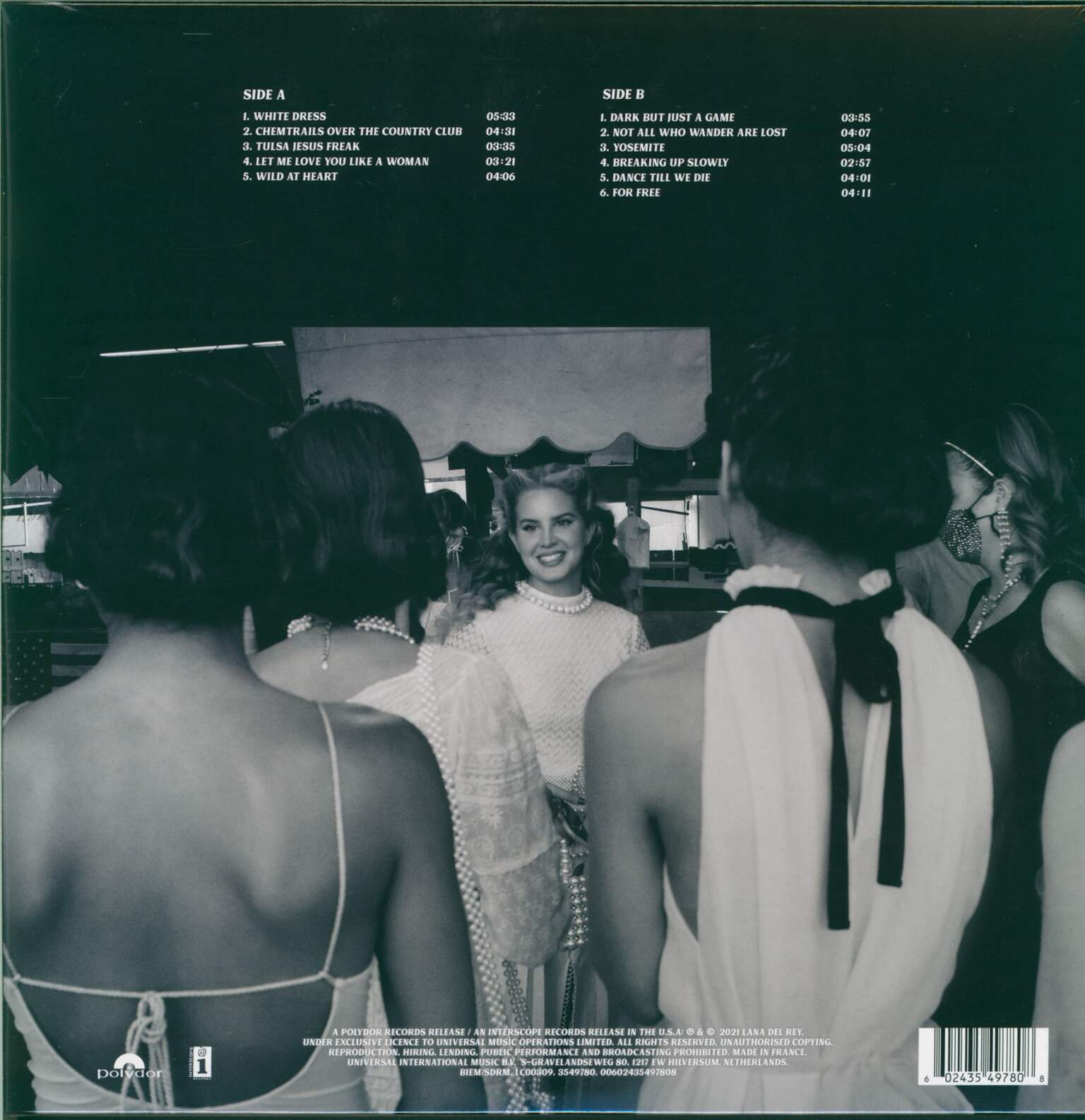 Lana Del Rey: Chemtrails Over The Country Club, 1×LP (Vinyl)