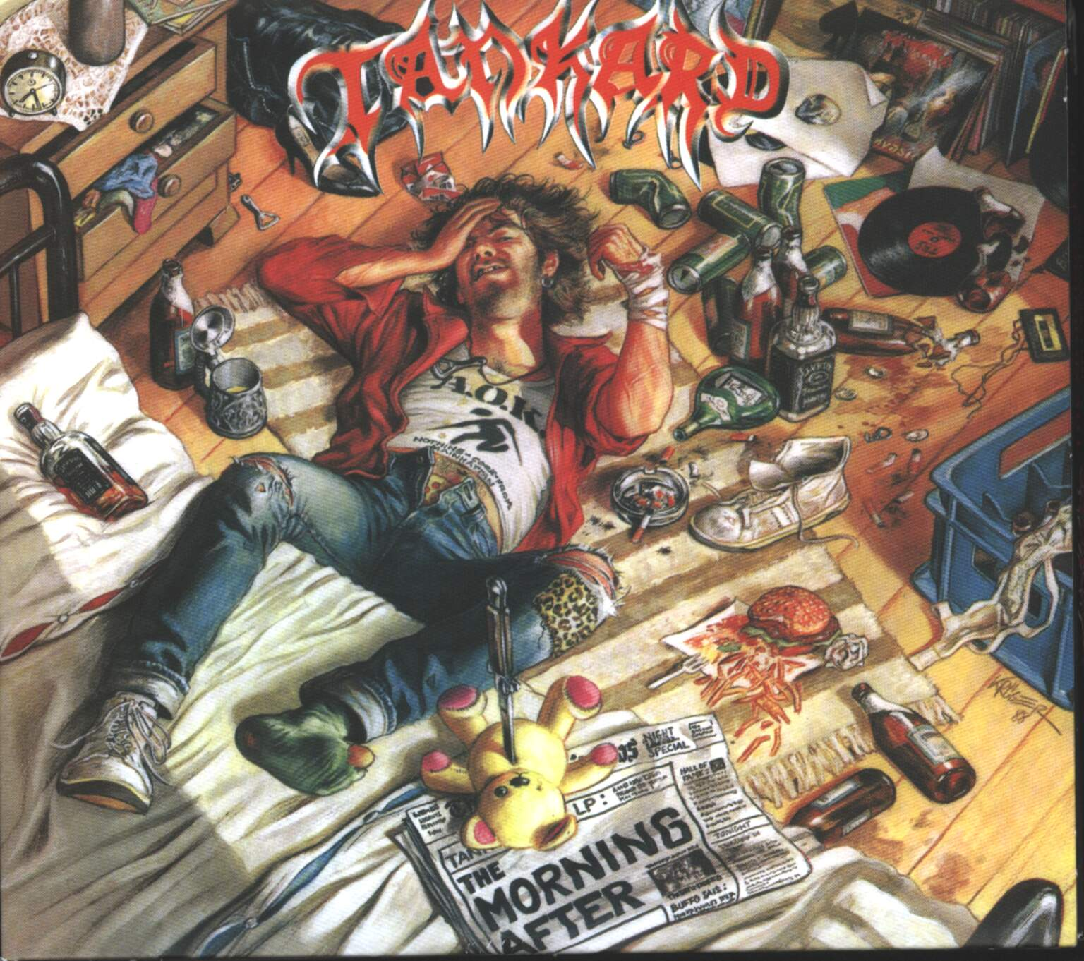 Tankard: The Morning After, 1×CD, 1×Mini CD