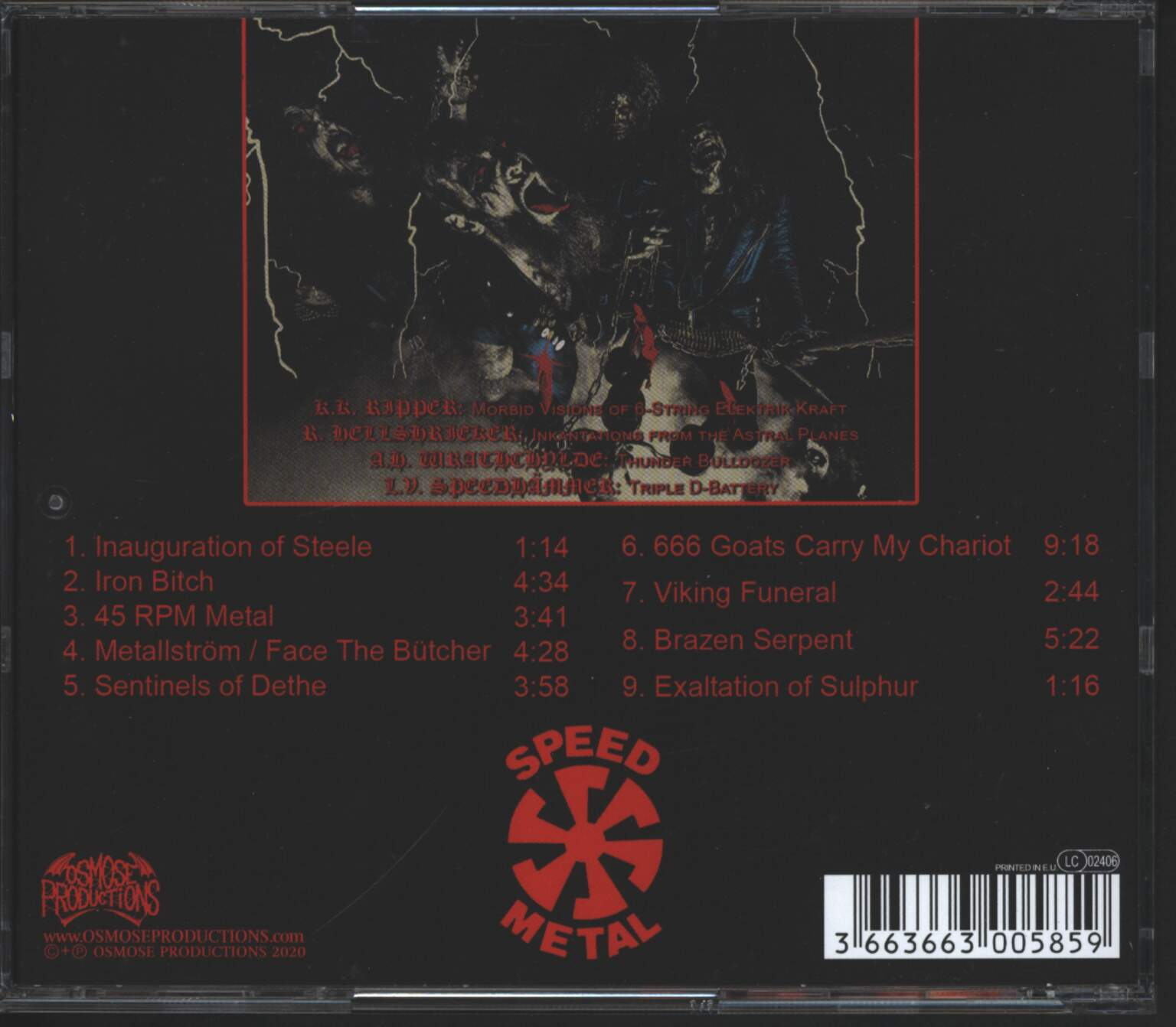 Butcher: 666 Goats Carry My Chariot, 1×CD