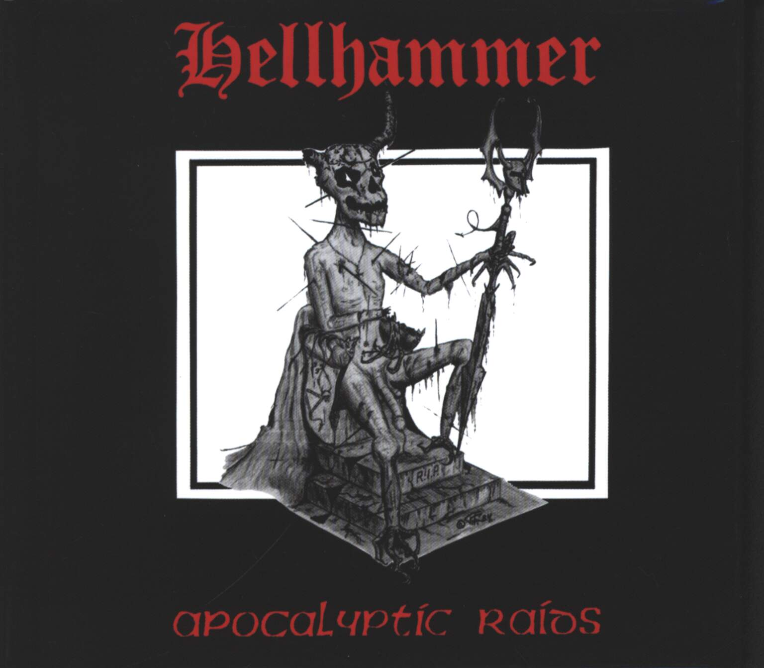 Hellhammer: Apocalyptic Raids, 1×Mini CD