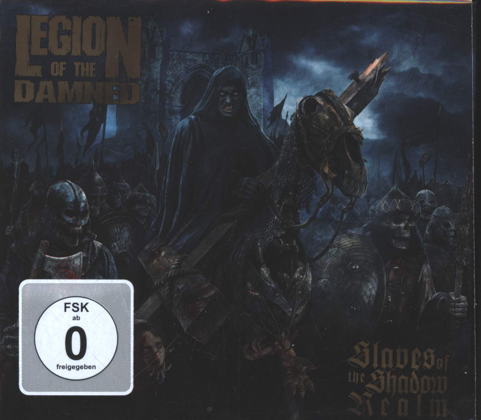 Legion Of The Damned: Slaves Of The Shadow Realm, 1×CD, 1×DVD