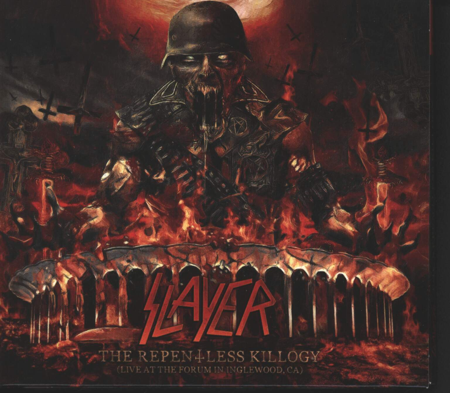 Slayer: The Repentless Killogy (Live At The Forum In Inglewood, CA), 2×CD