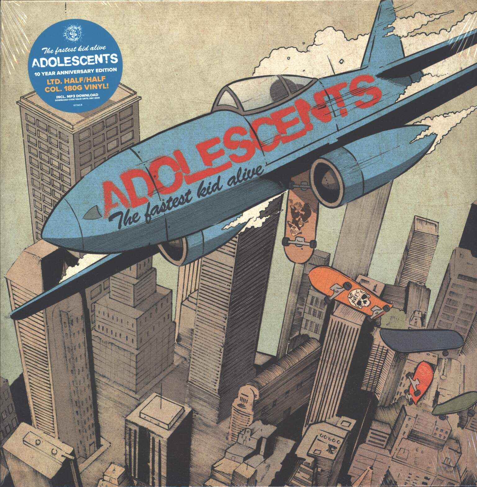 Adolescents: The Fastest Kid Alive, 1×LP (Vinyl)