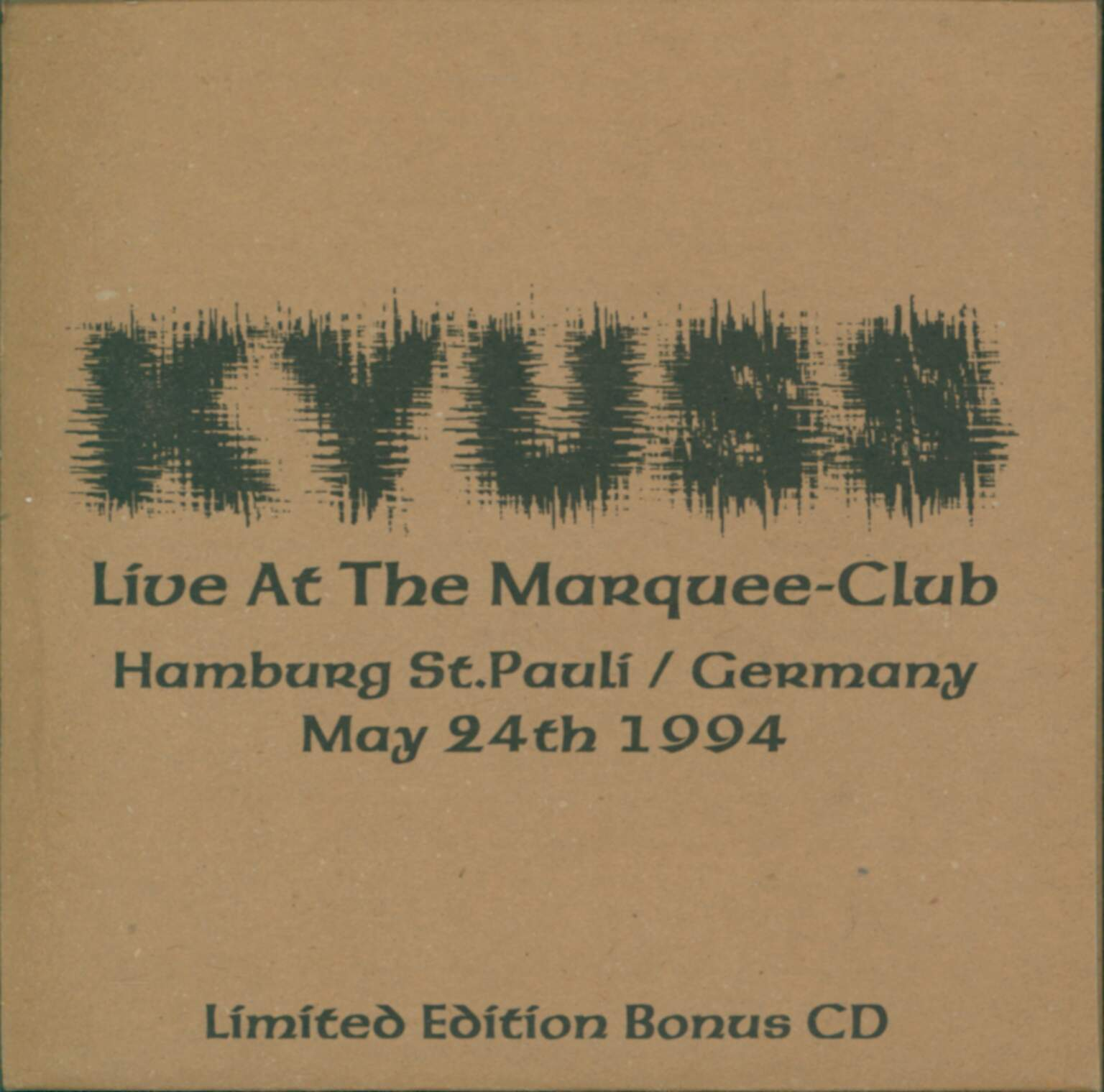 Kyuss: Live At The Marquee-Club, 1×CD