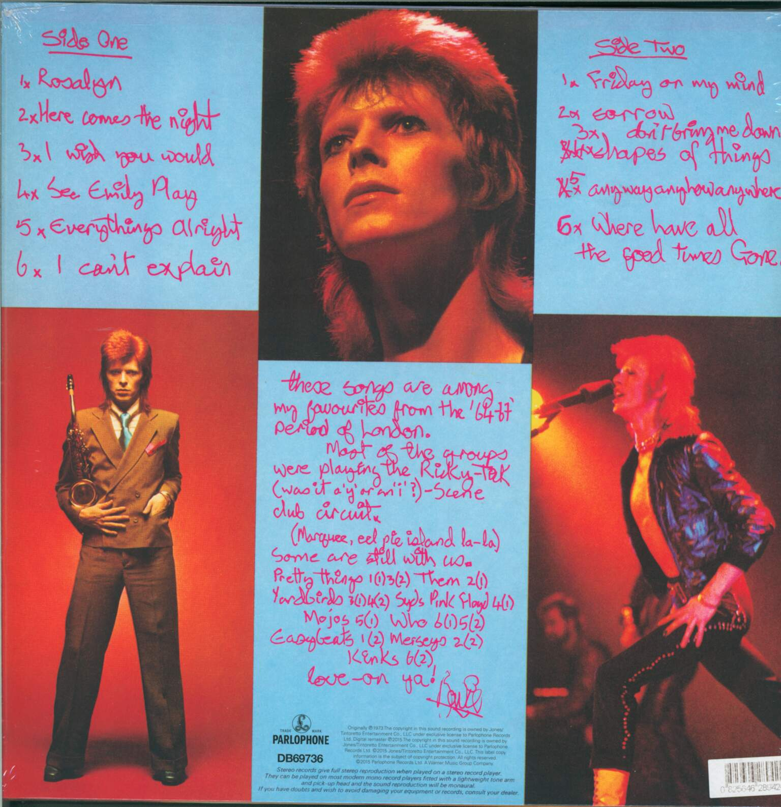 David Bowie: Pin Ups, 1×LP (Vinyl)
