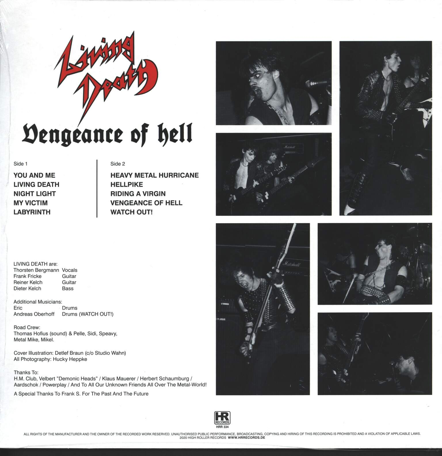 Living Death: Vengeance Of Hell, 1×LP (Vinyl)