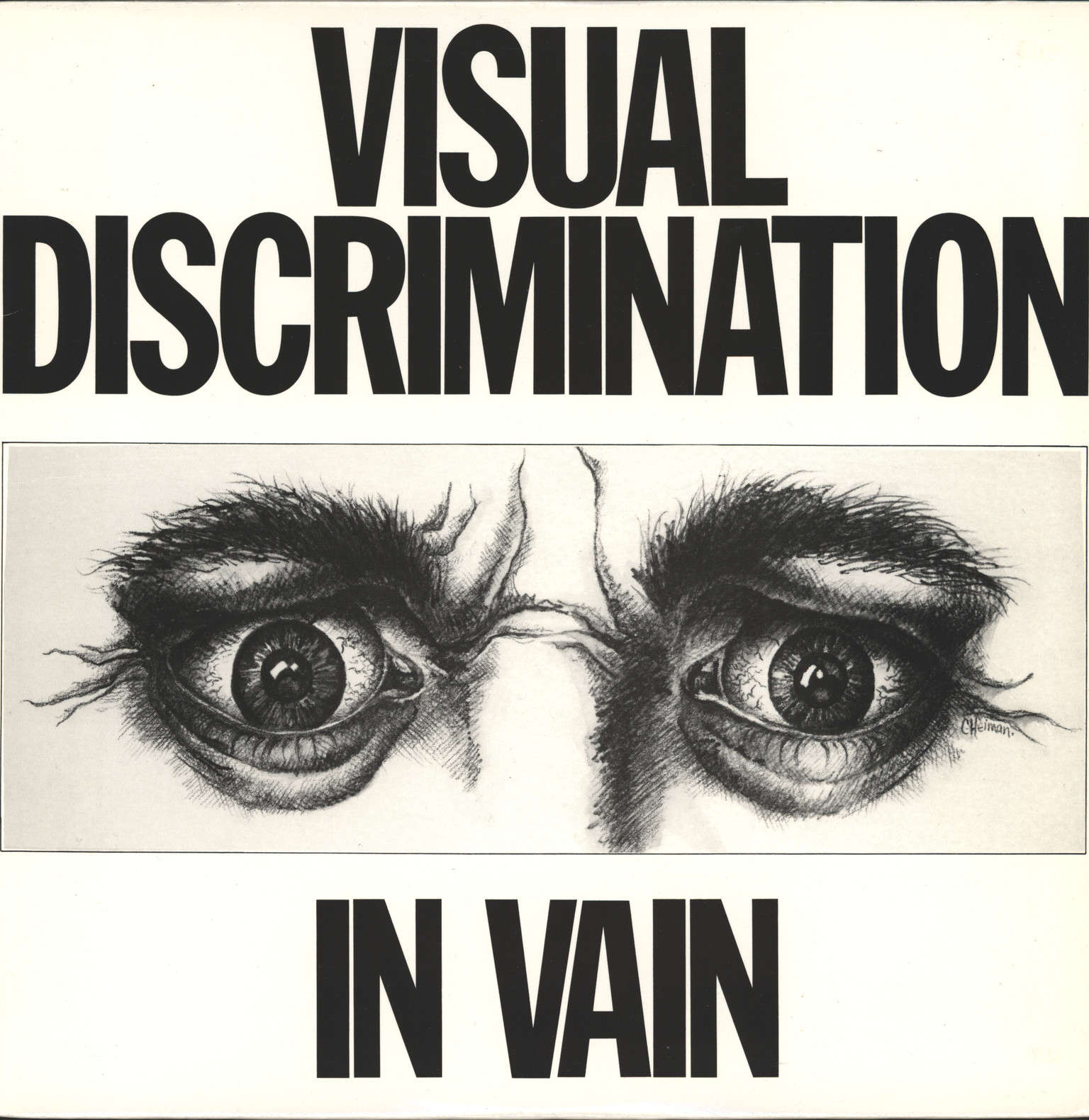 Visual Discrimination: In Vain, LP (Vinyl)