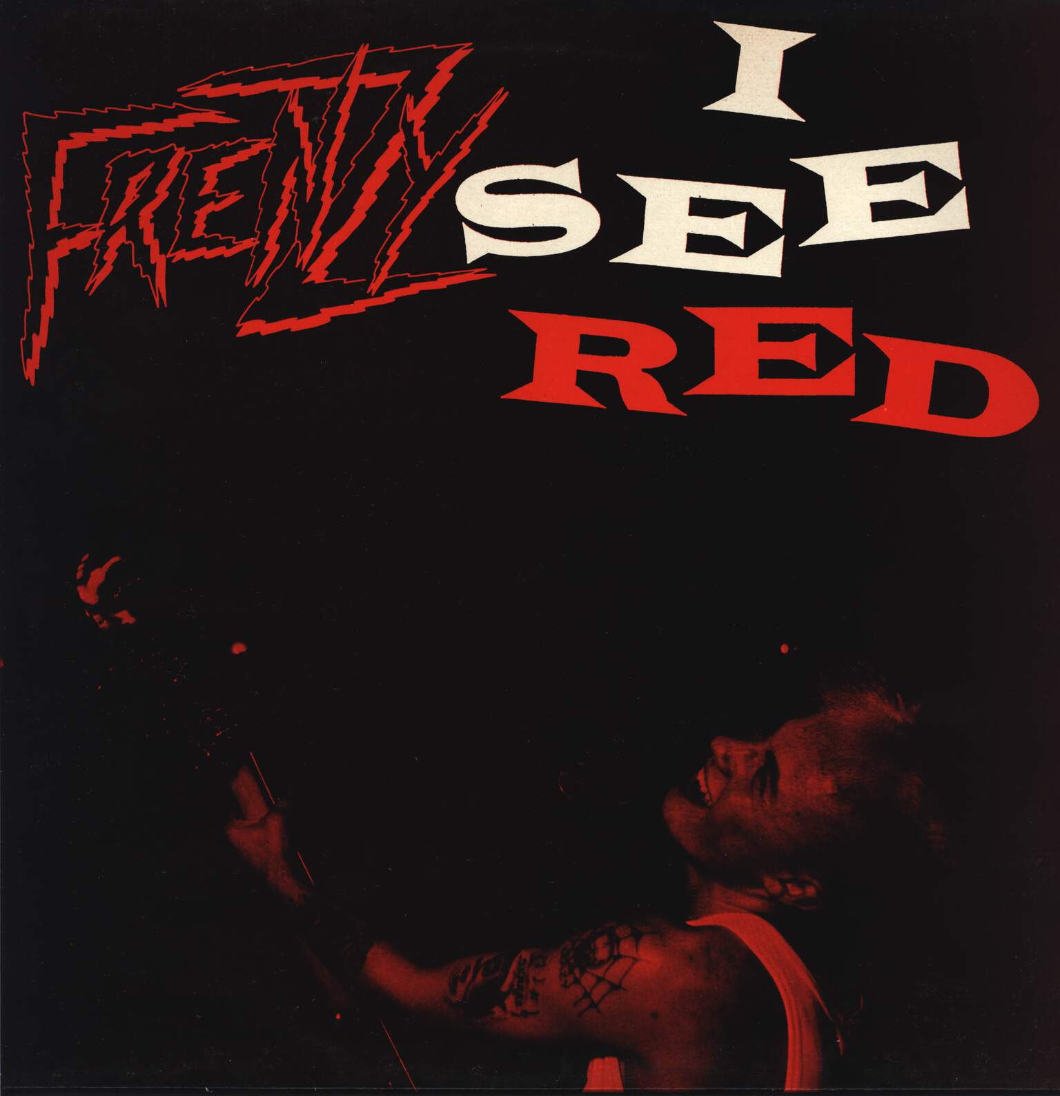 "Frenzy: I See Red, 12"" Maxi Single (Vinyl)"