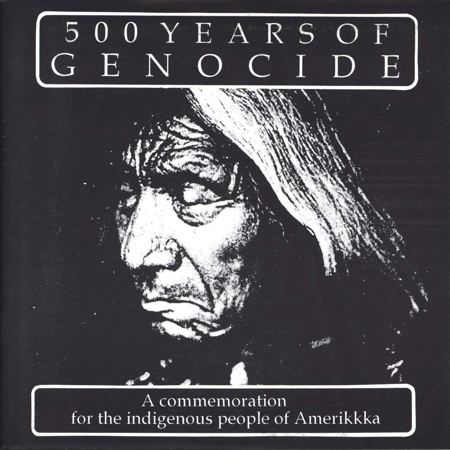 "Various: 500 Years Of Genocide, 7"" Single (Vinyl)"