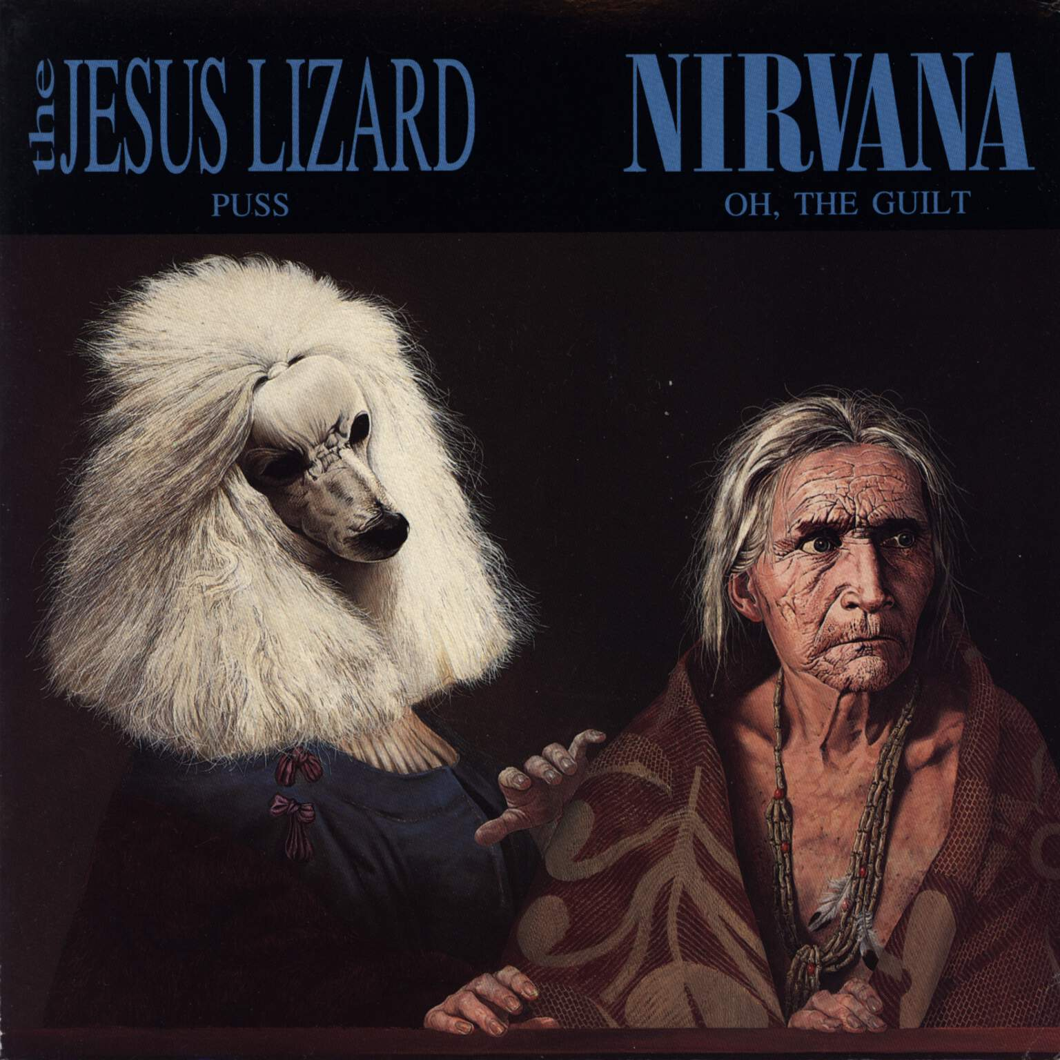 "The Jesus Lizard: Puss / Oh, The Guilt, 7"" Single (Vinyl)"
