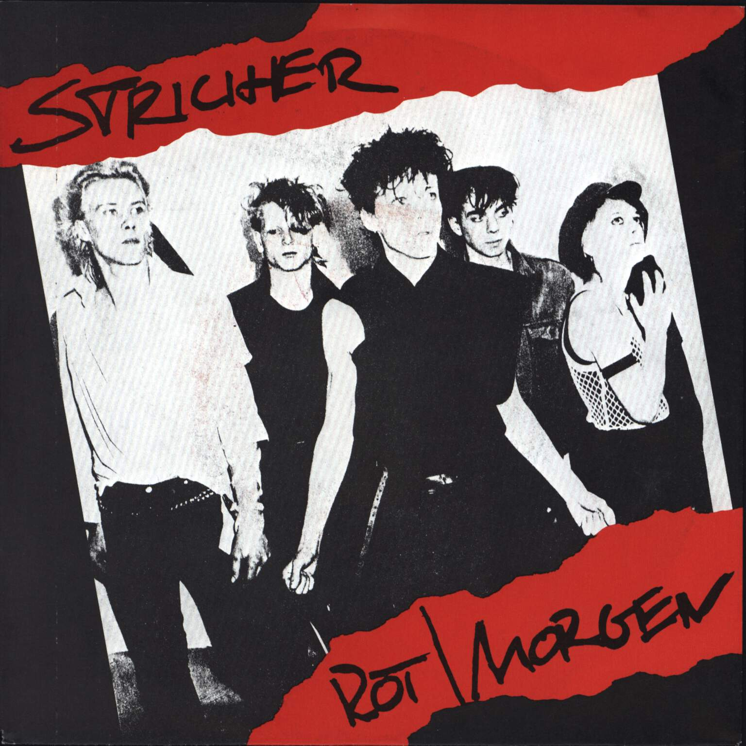 "Stricher: Rot / Morgen, 7"" Single (Vinyl)"