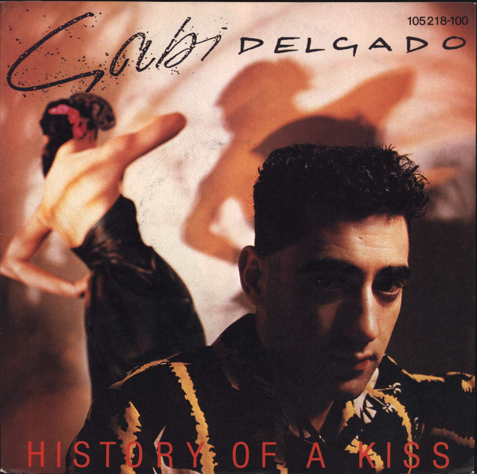"Gabi Delgado: History Of A Kiss / Sex Goddess (Dub Mix), 7"" Single (Vinyl)"