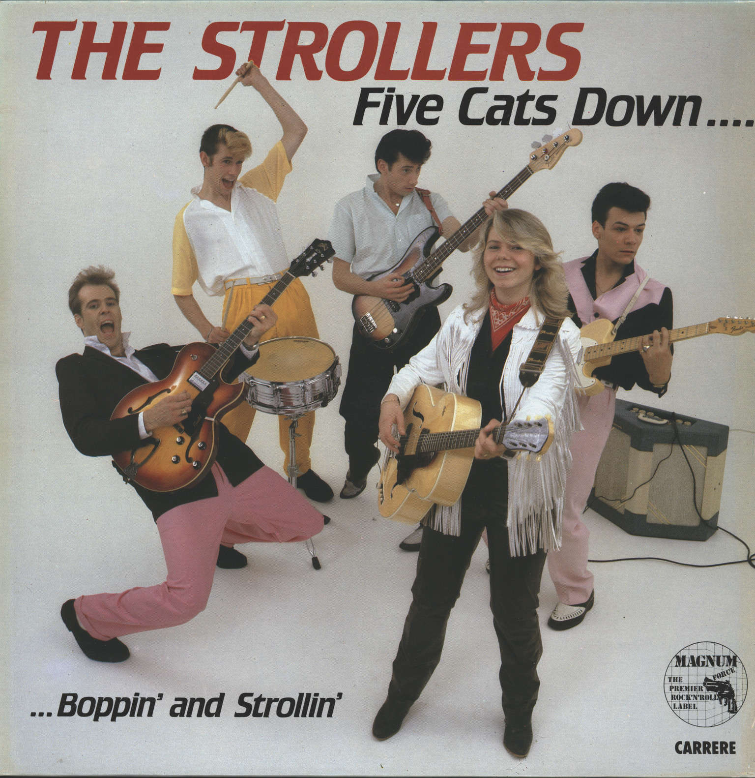 Strollers: Five Cats Down..., LP (Vinyl)