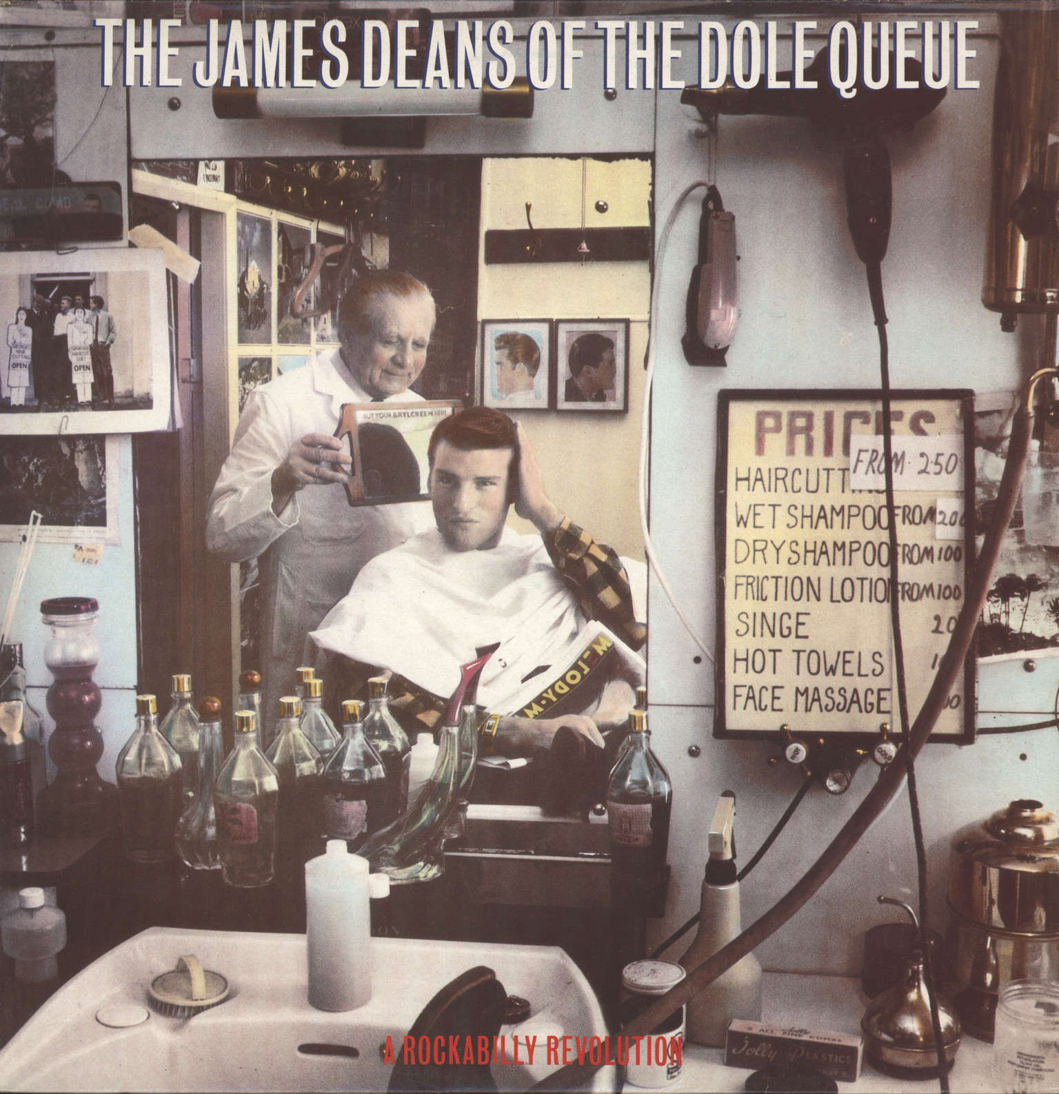 Various: The James Deans Of The Dole Queue - A Rockabilly Revolution, LP (Vinyl)