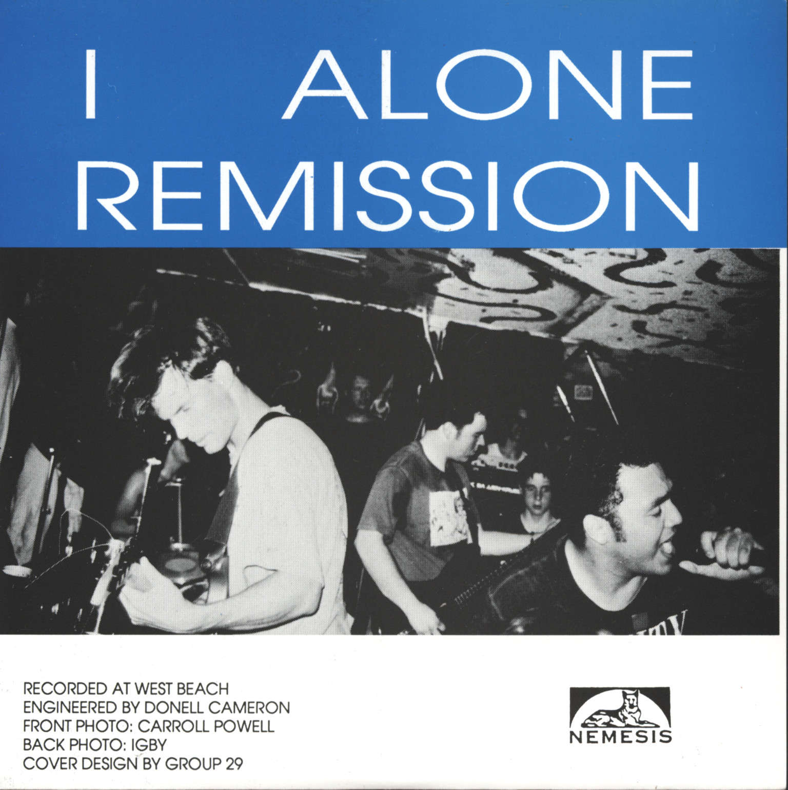 "One Step Ahead: Remission, 1×7"" Single (Vinyl)"