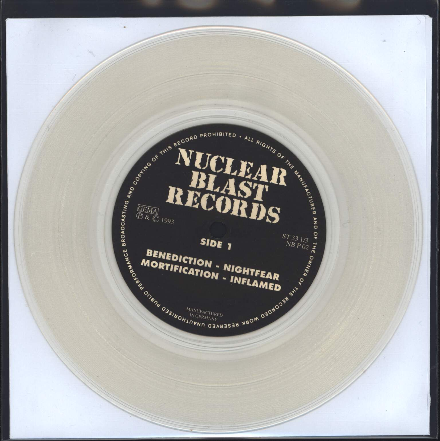 "Various: Nuclear Blast Promo EP II, 7"" Single (Vinyl)"